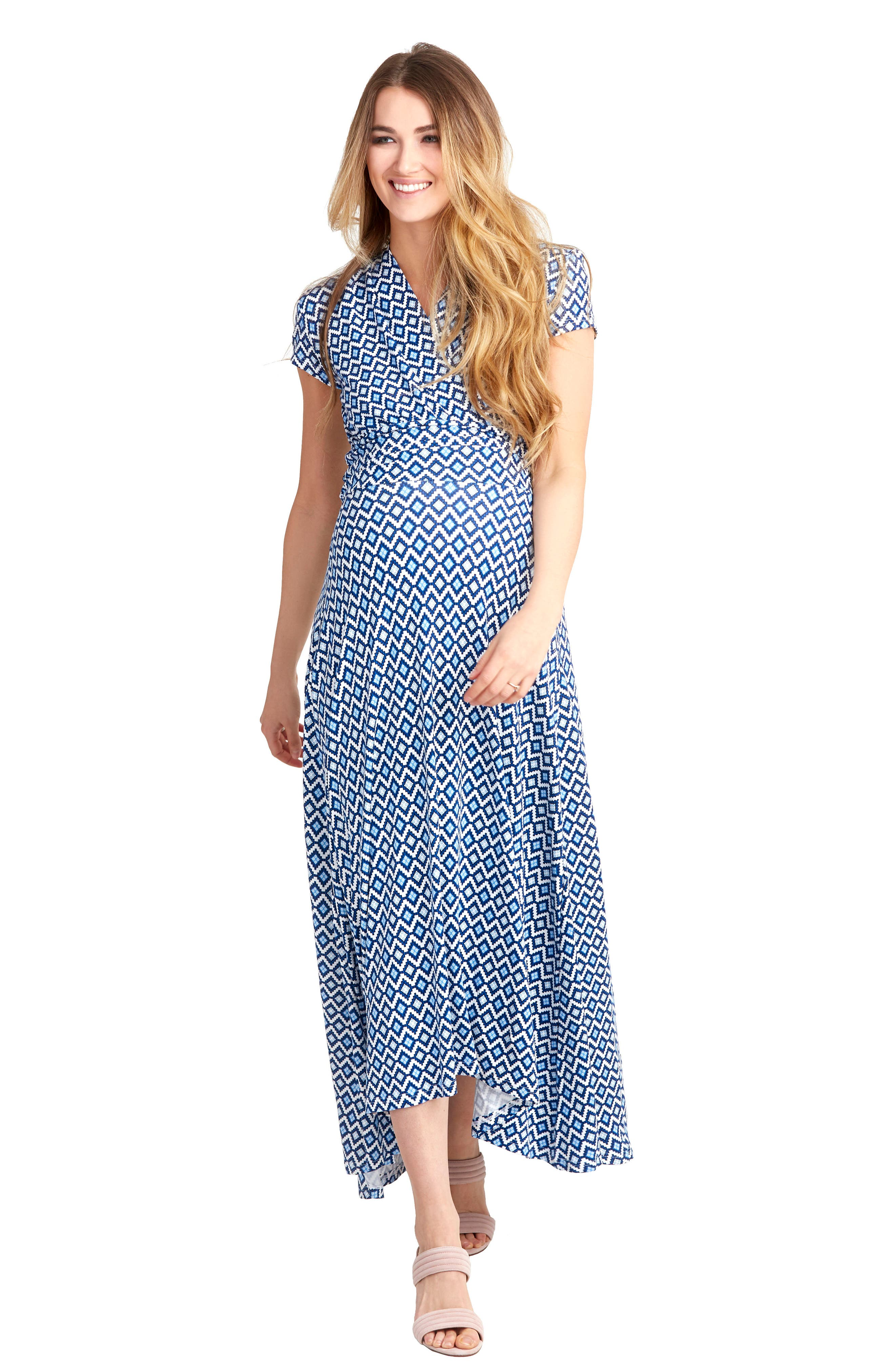 Alternate Image 4  - Nom Maternity 'Caroline' Maternity/Nursing Maxi Dress