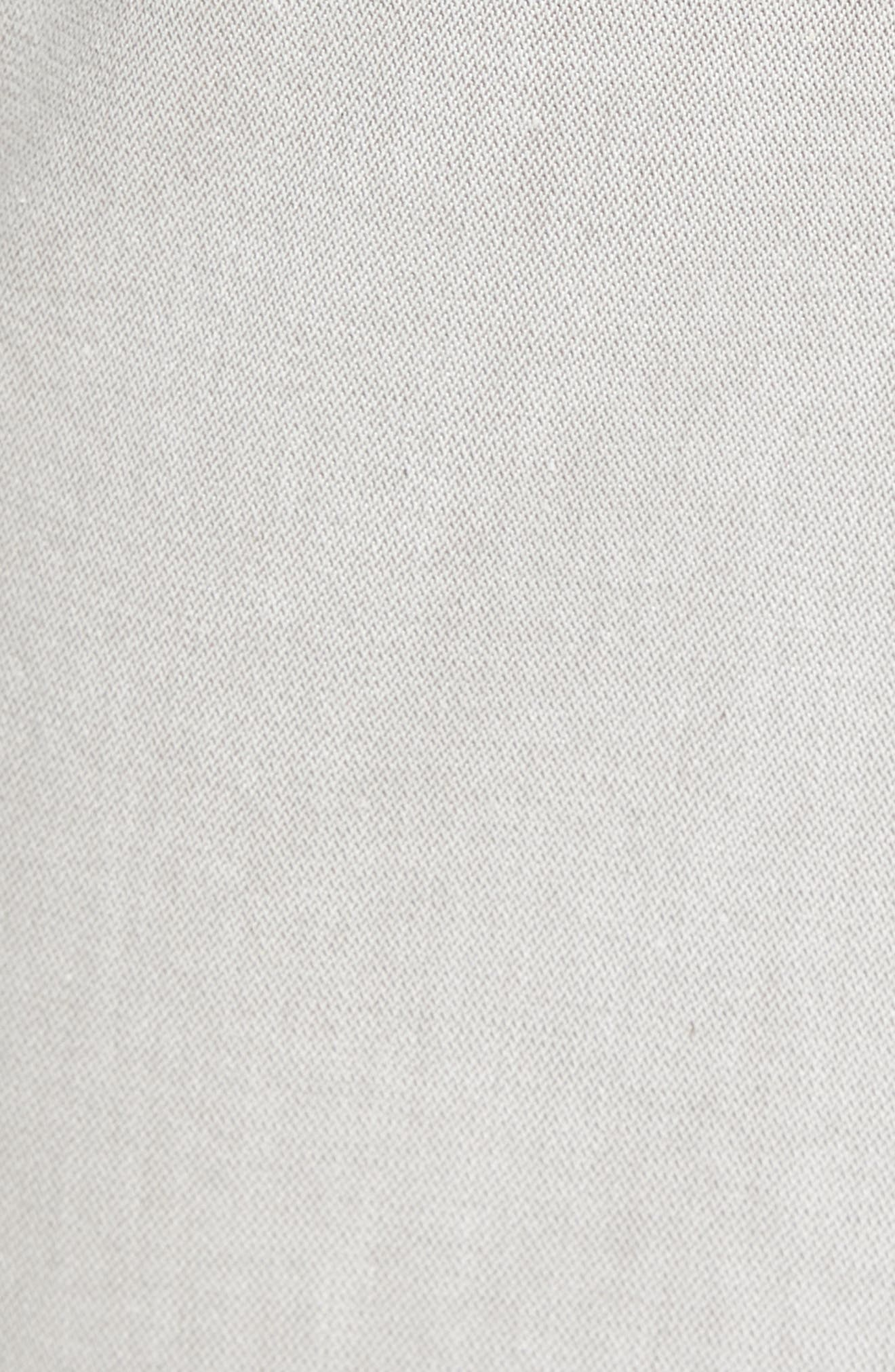 Courage Straight Leg Jeans,                             Alternate thumbnail 5, color,                             Latte Herringbone Reversed