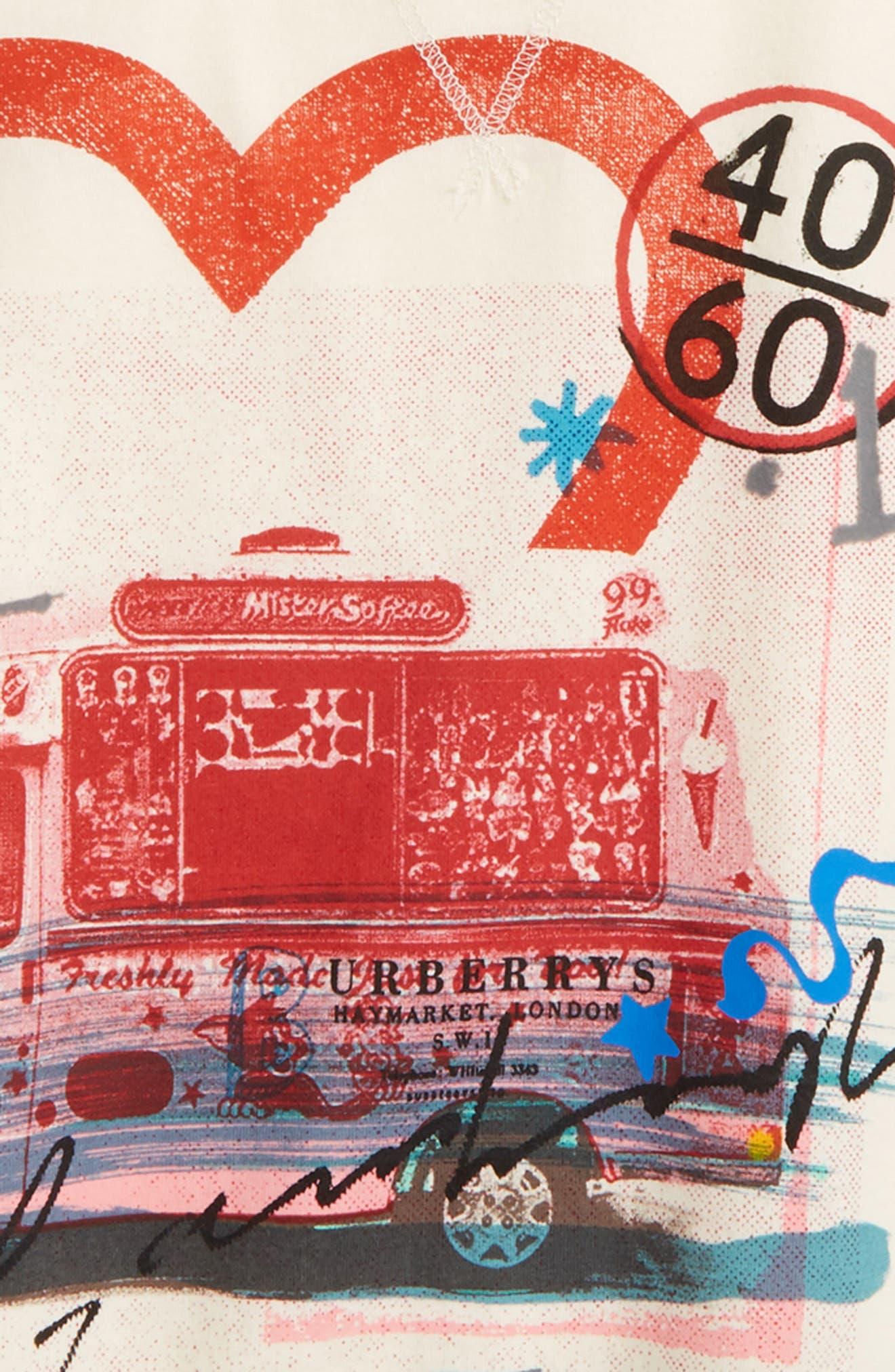 Alternate Image 2  - Burberry Valeria Graphic Tee (Little Girls & Big Girls)