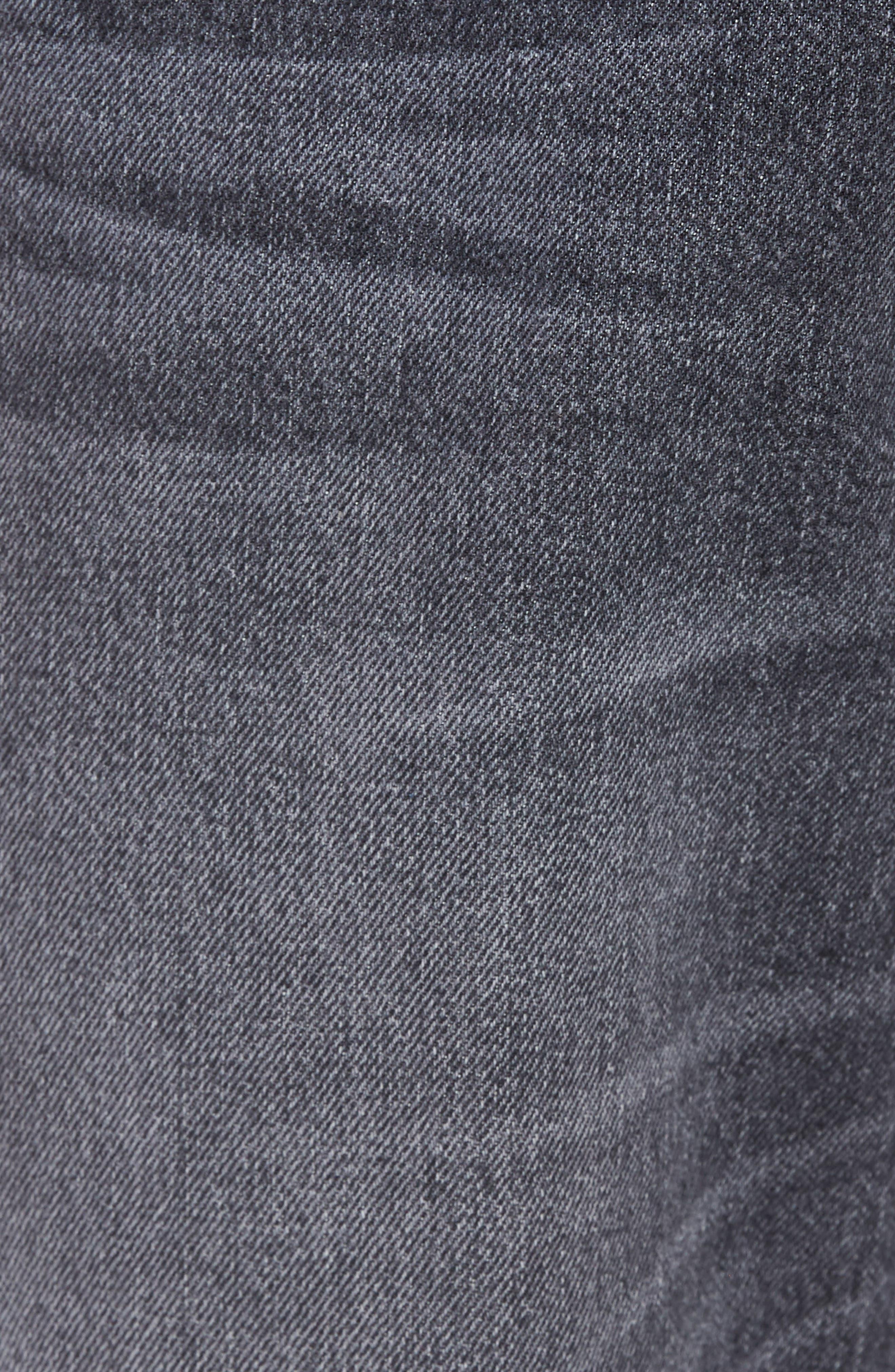 Dixon Straight Leg Jeans,                             Alternate thumbnail 5, color,                             Hurricane