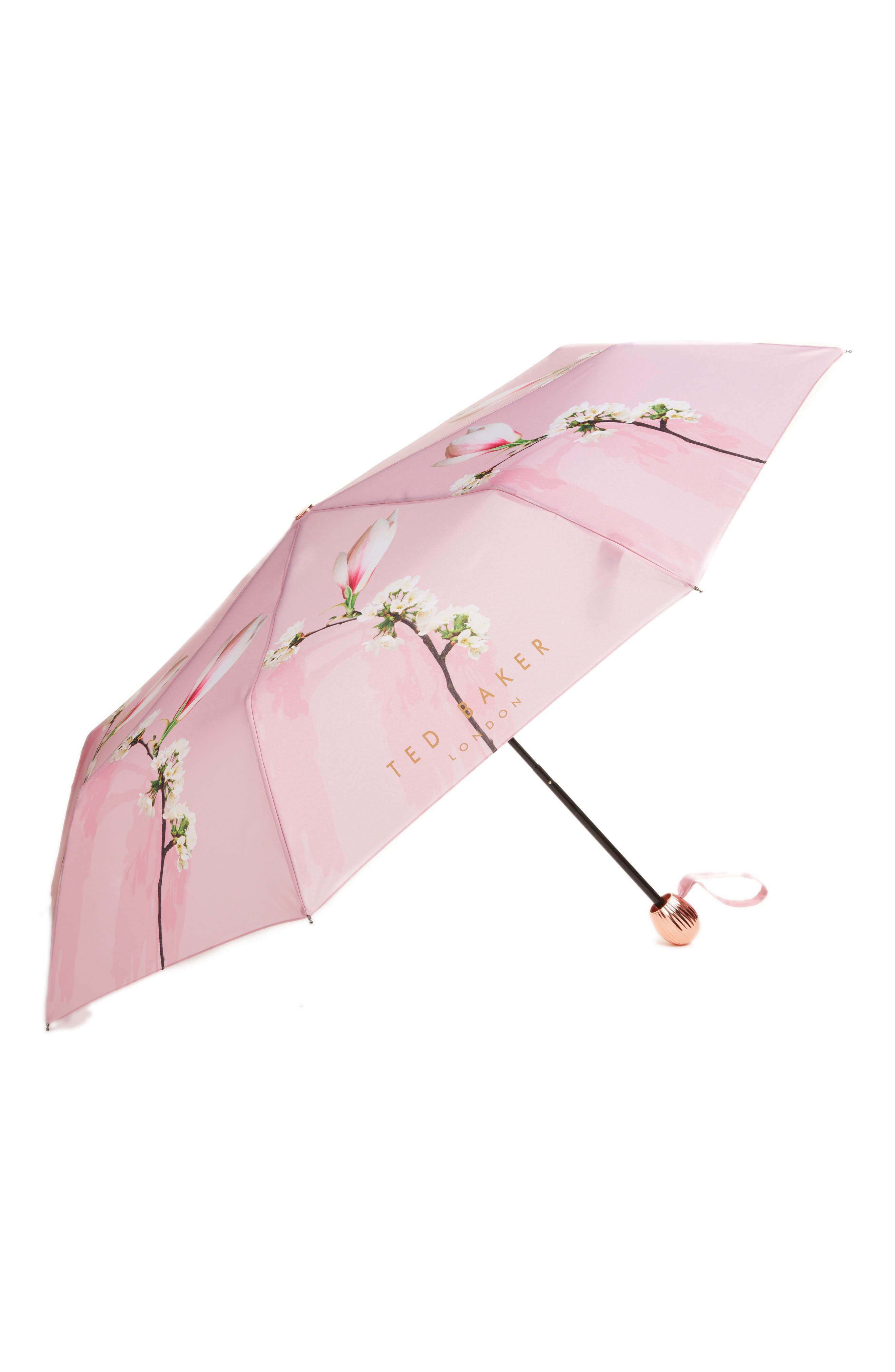 Harmony Compact Umbrella,                         Main,                         color, Pale Pink