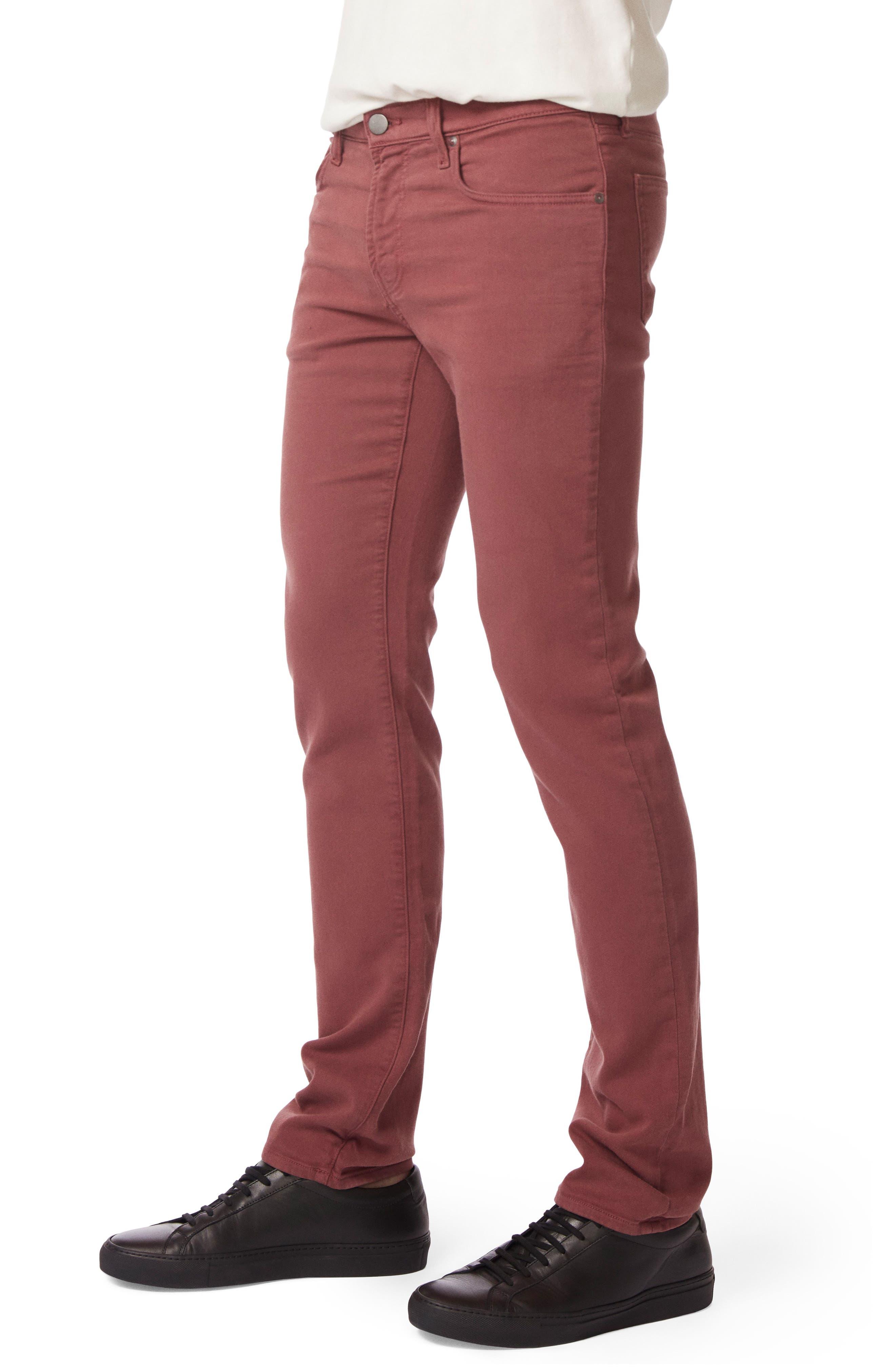 Kane Slim Straight Leg Pants,                             Alternate thumbnail 3, color,                             Keckley Basella