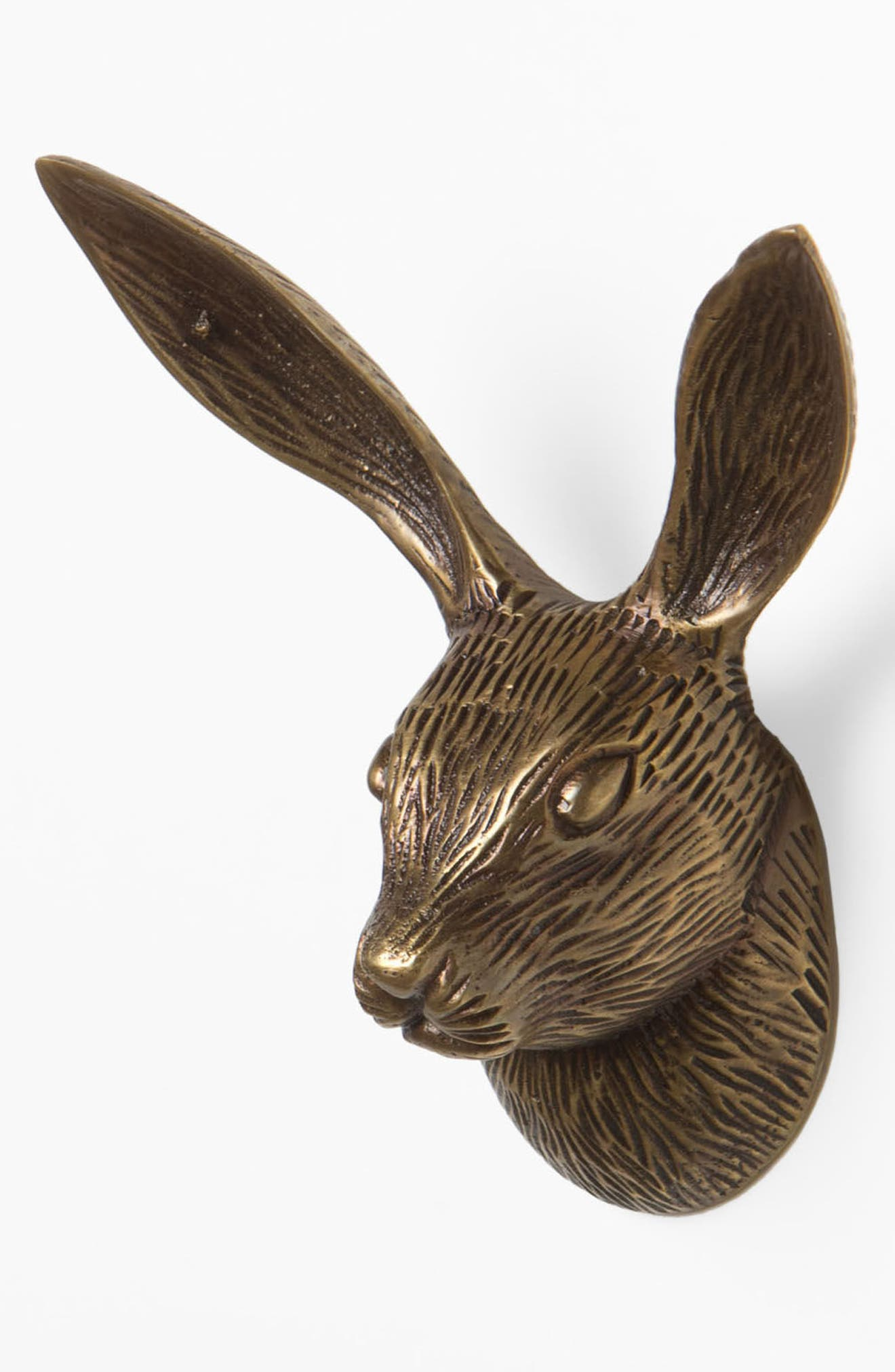 Rabbit Forestry Hook,                             Alternate thumbnail 2, color,                             Bronze