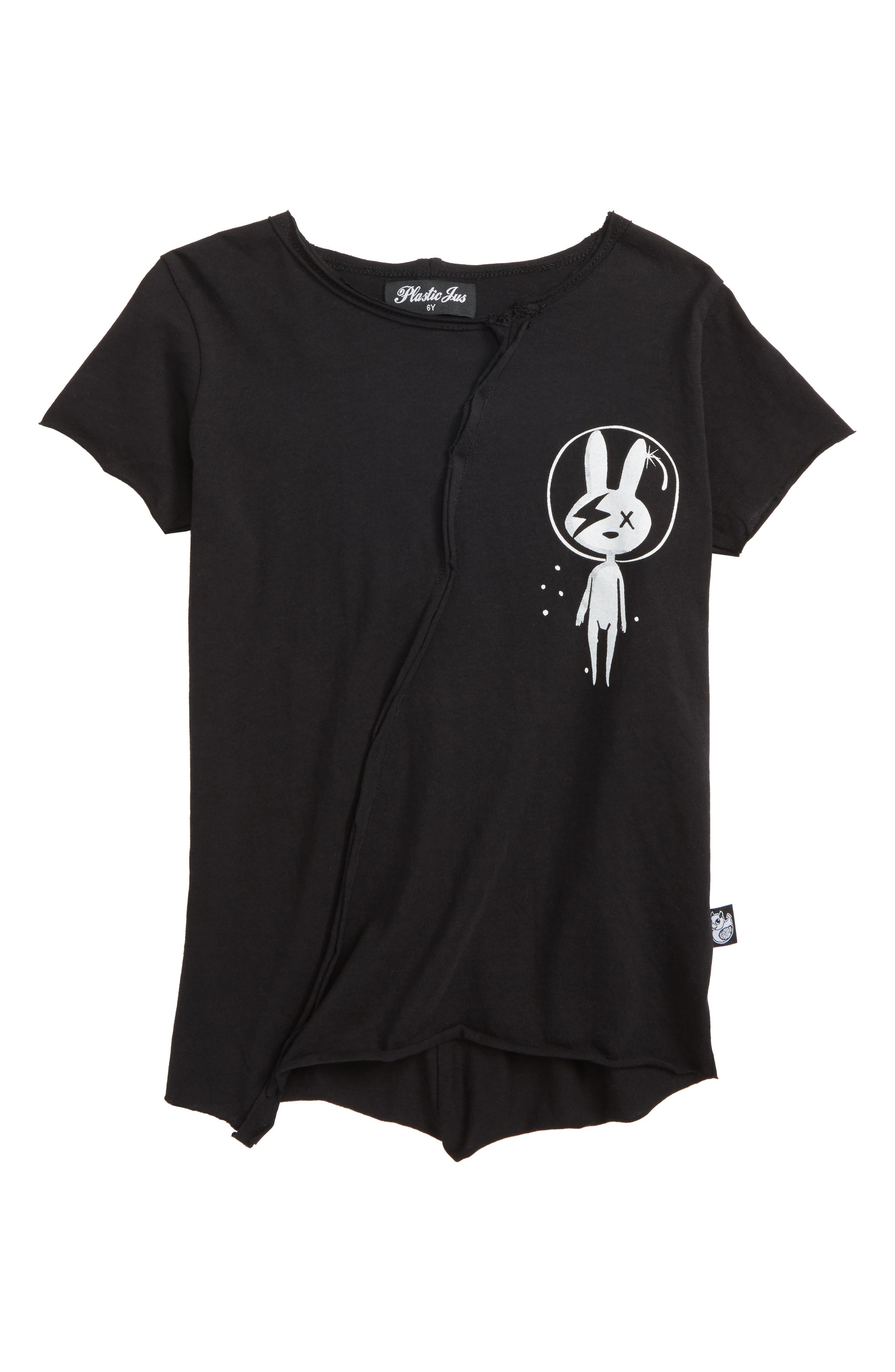Plastic Jus Astro Bunny Rock Graphic T-Shirt (Baby Boys, Toddler Boys, Little Boys & Big Boys)