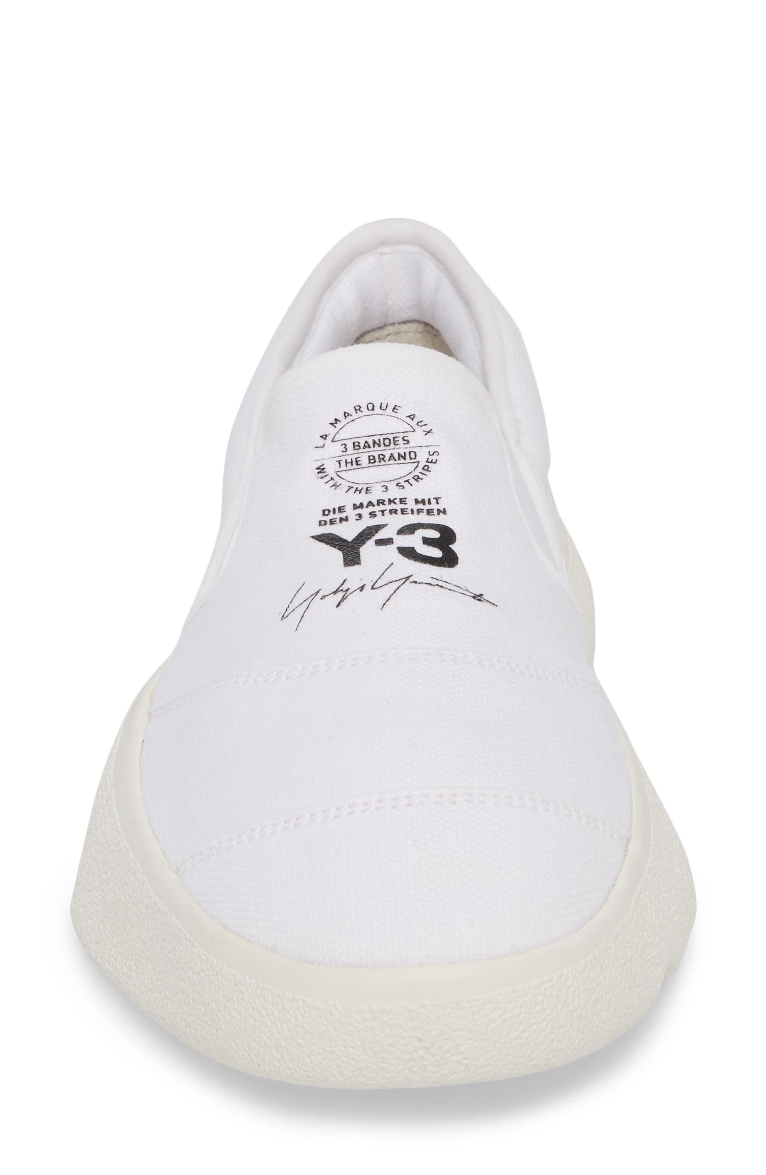 Tangutsu Slip-On Sneaker,                             Alternate thumbnail 4, color,                             White / Black / Core White