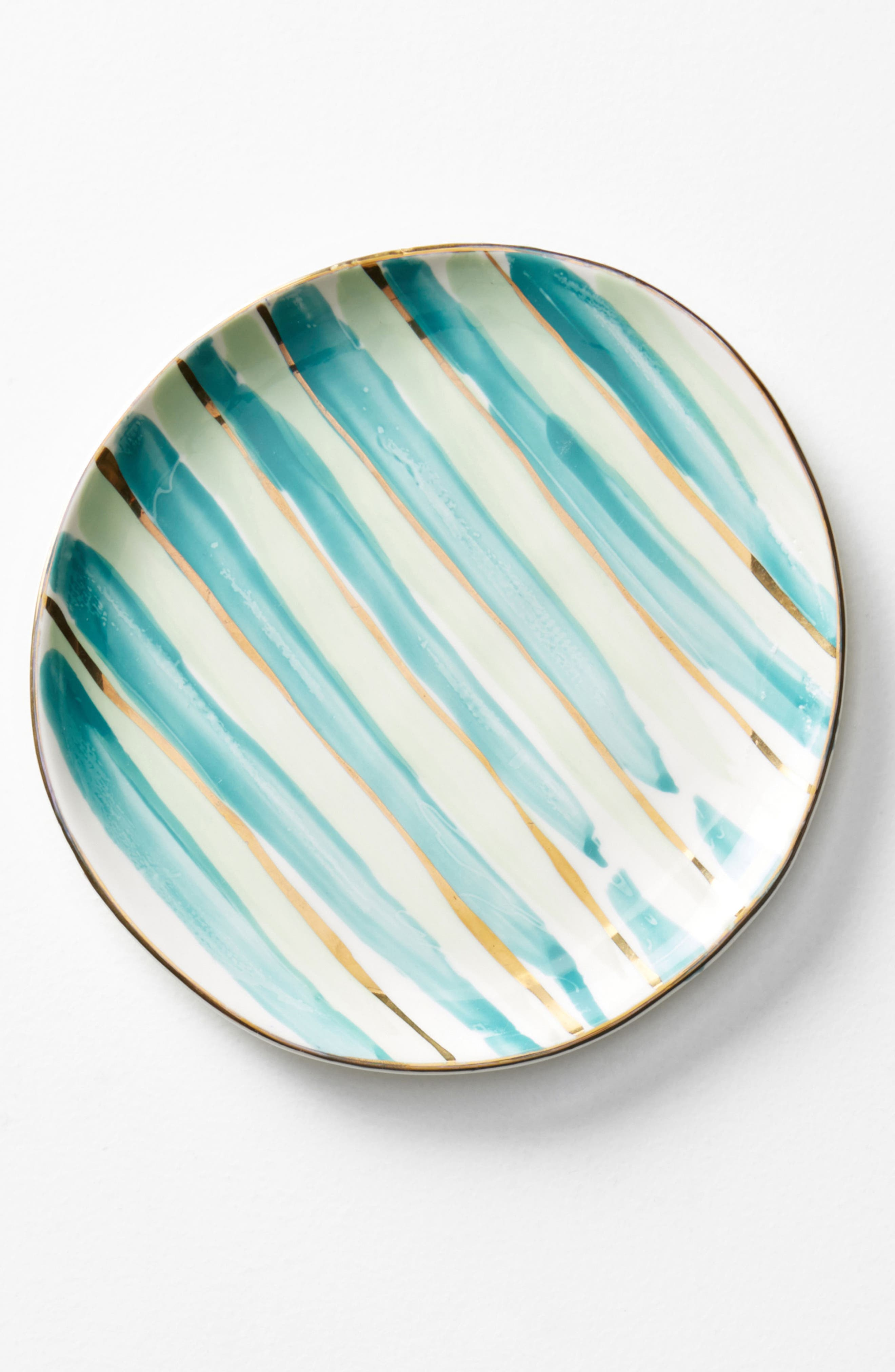 Mimira Canape Plate,                             Alternate thumbnail 3, color,                             Holly