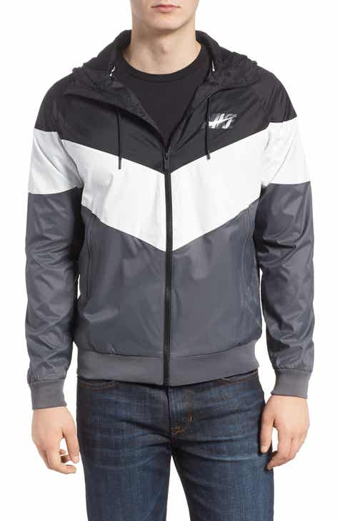 9a55cf6a2781 Nike Windrunner Wind   Water Repellent Hooded Jacket