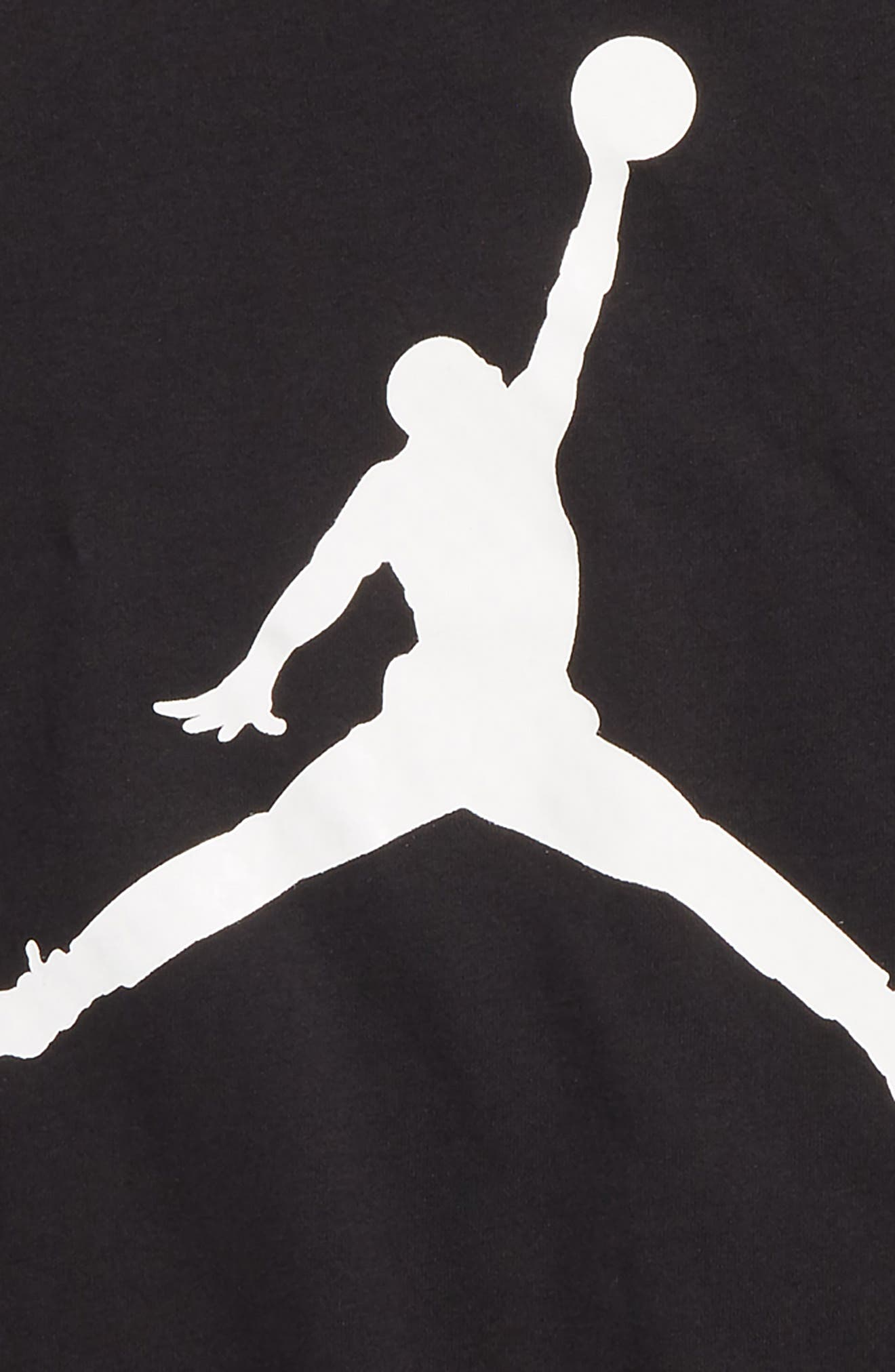 Jordan Jumpman Brand T-Shirt,                             Alternate thumbnail 2, color,                             Black