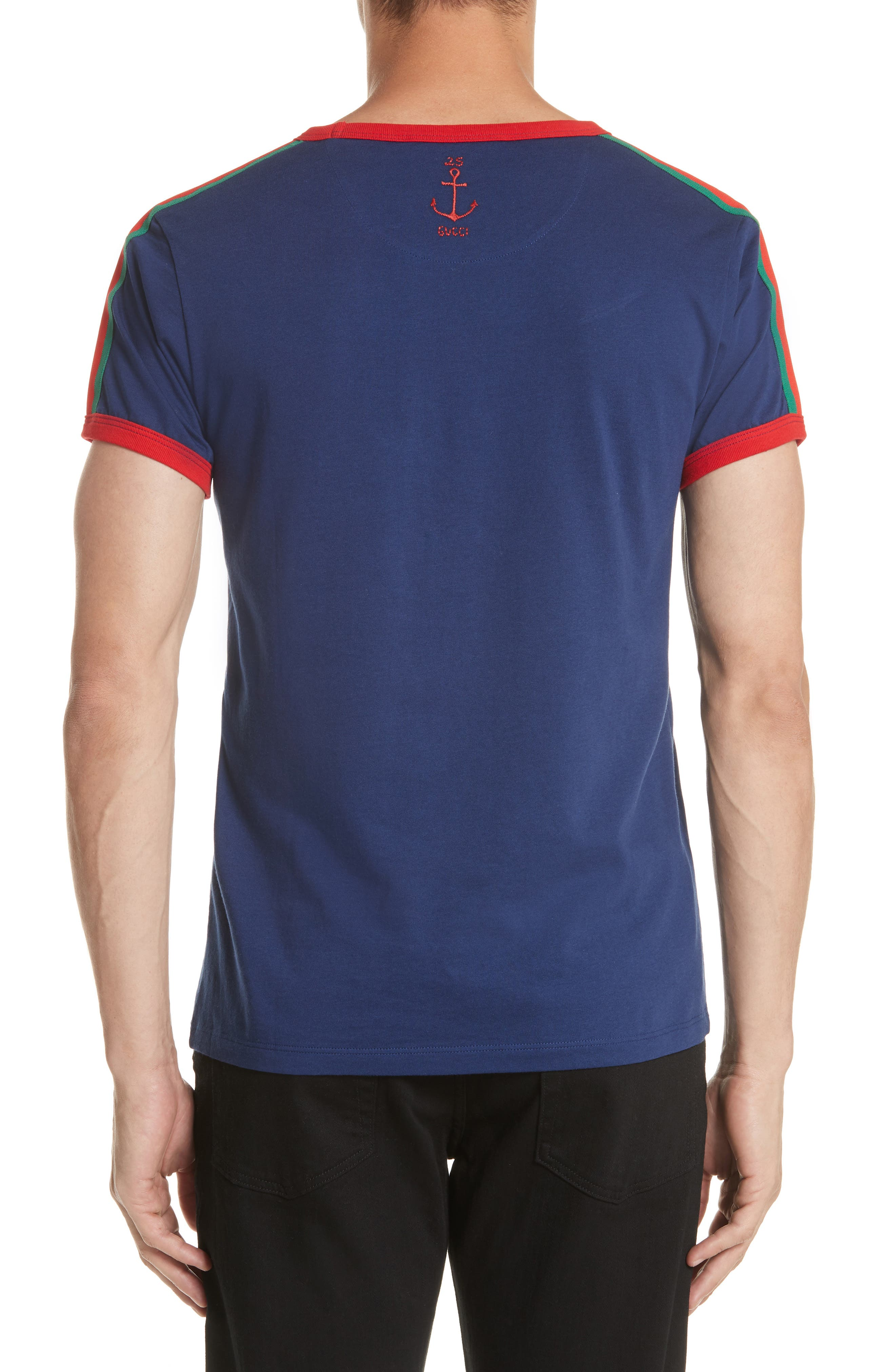 Guccification T-Shirt,                             Alternate thumbnail 2, color,                             4455 Navy