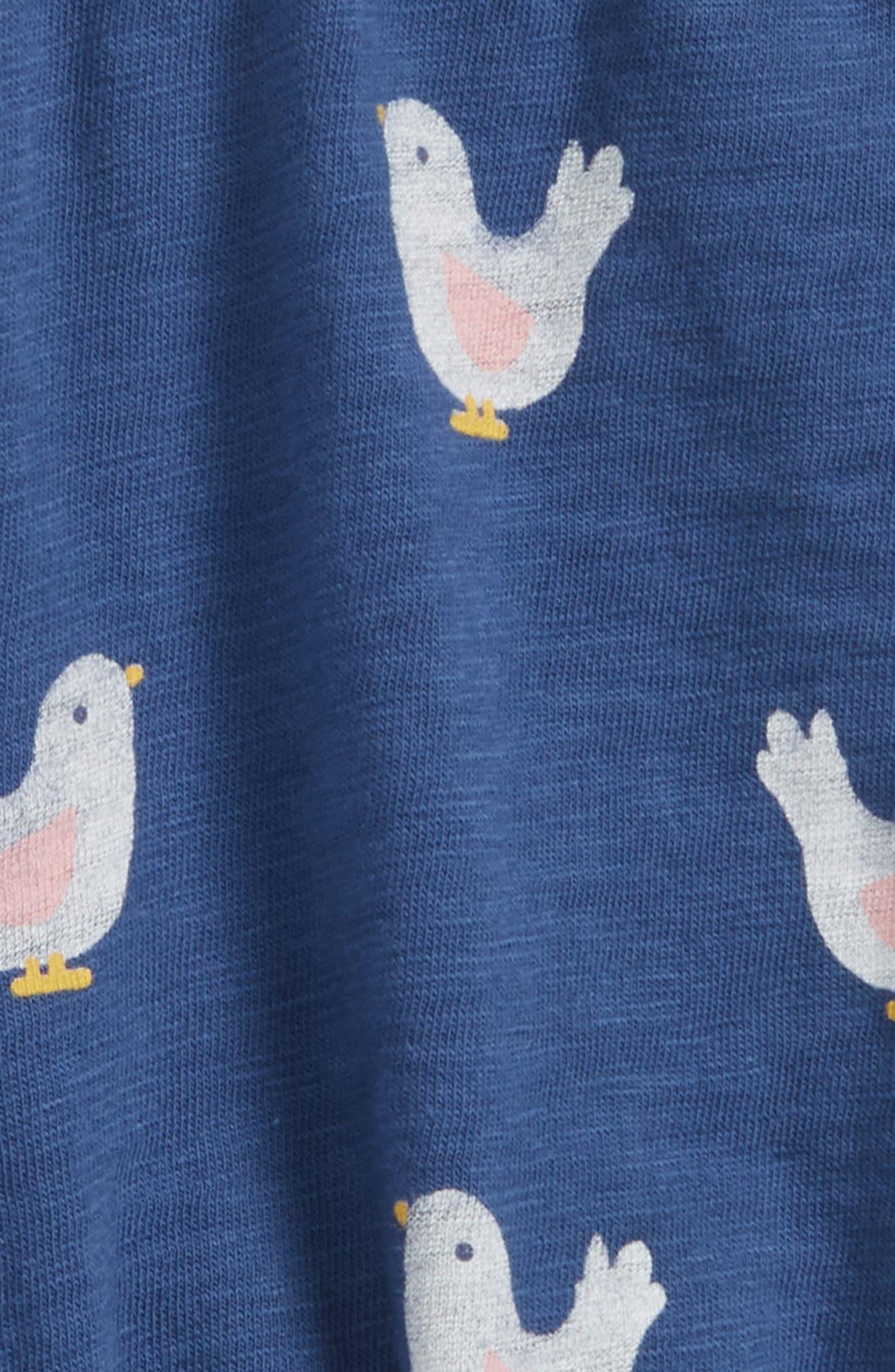 Alternate Image 2  - Peek Bird Bubble Shorts (Baby Girls)