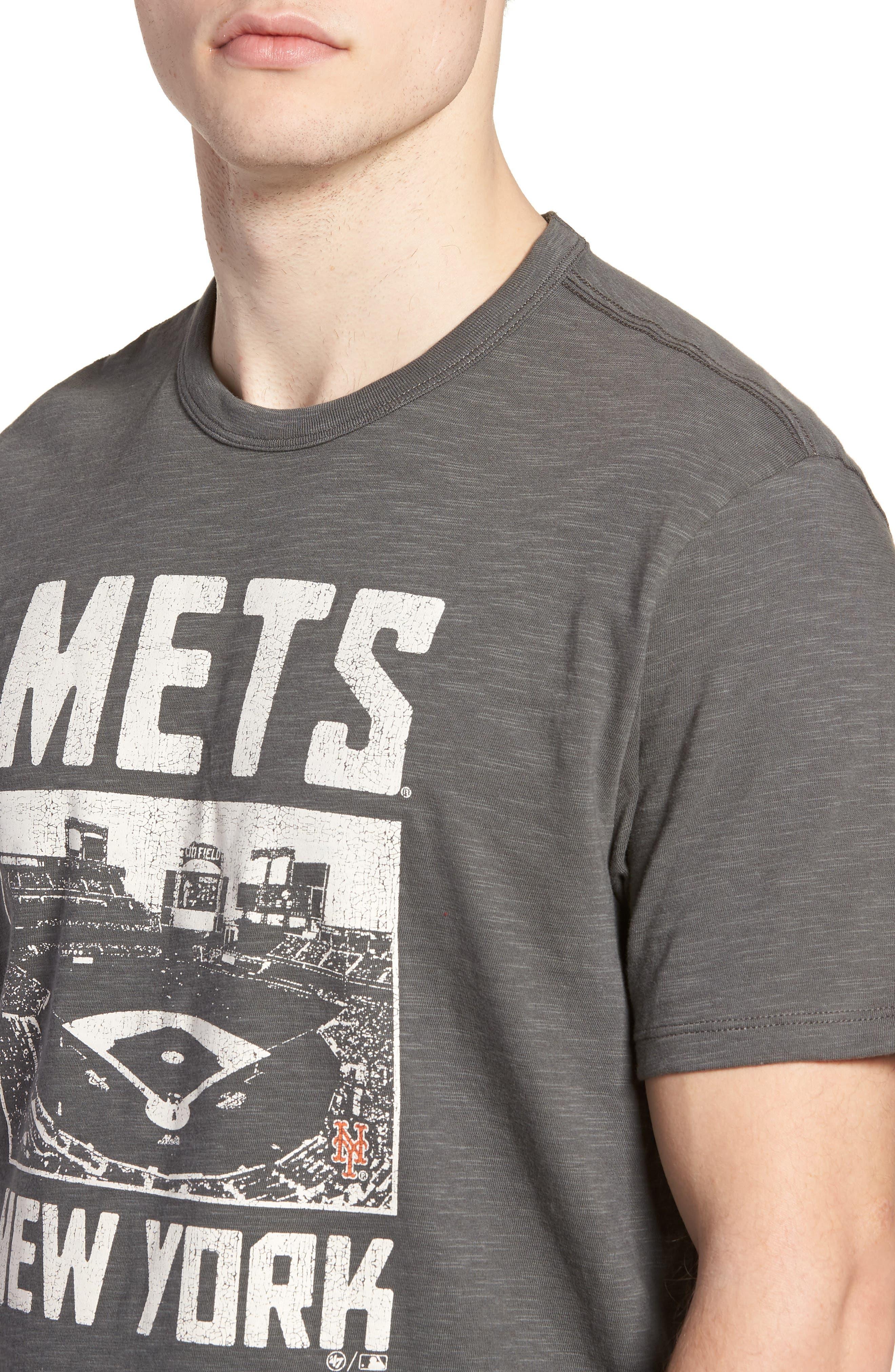 MLB Overdrive Scrum New York Mets T-Shirt,                             Alternate thumbnail 4, color,                             Submarine