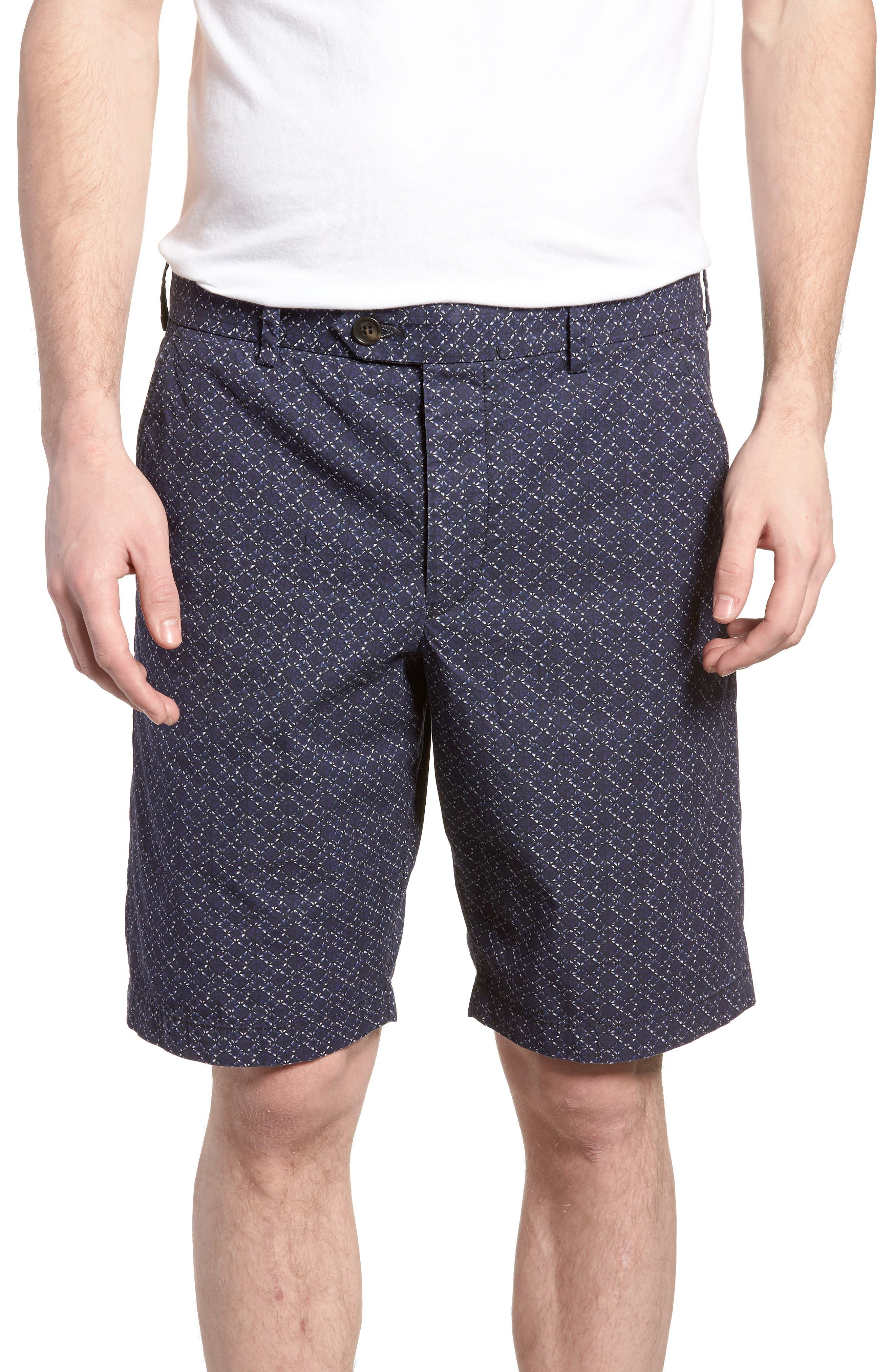 Kast Tile Shorts,                         Main,                         color, Deep Cobalt