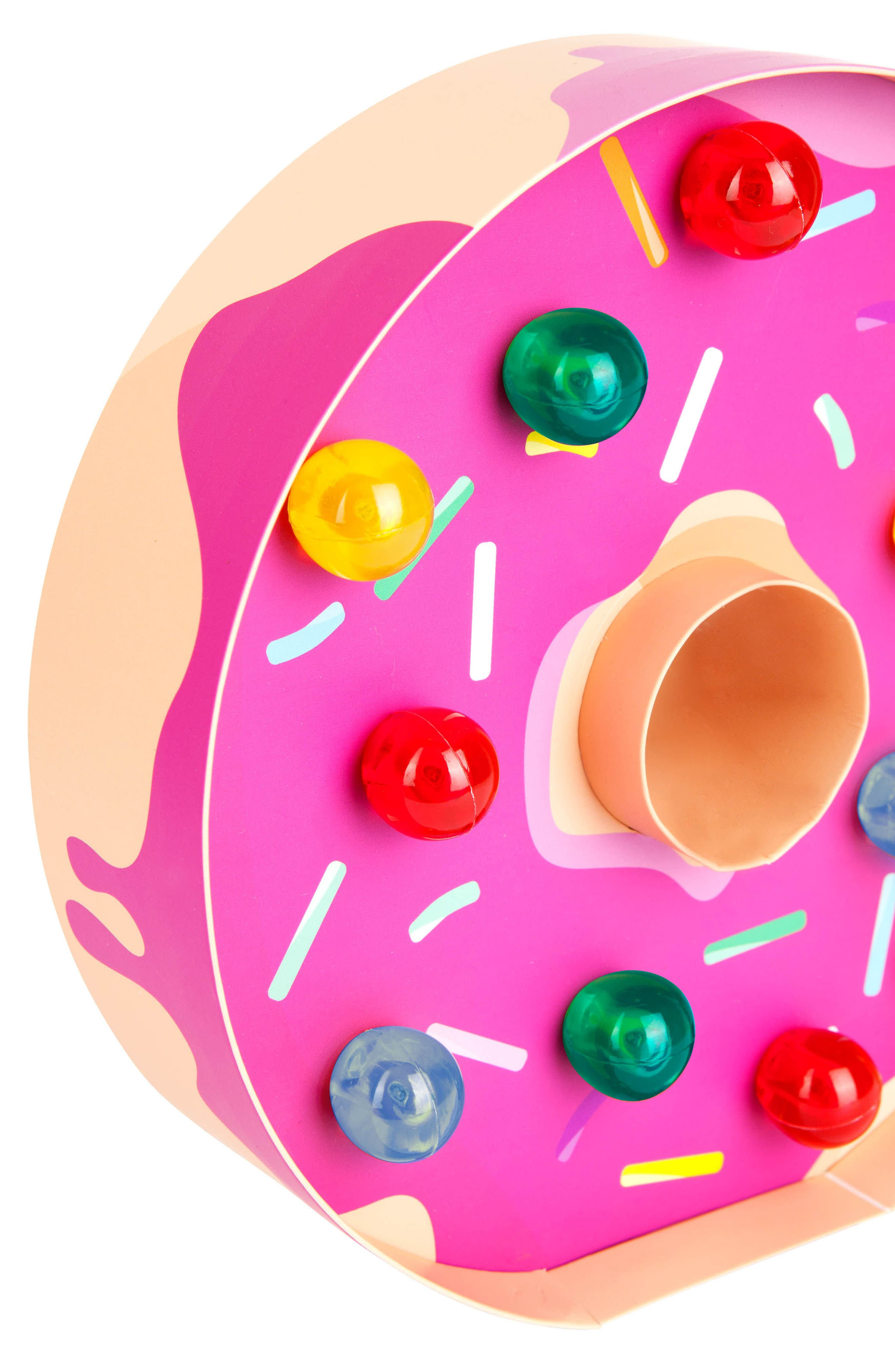 Donut Marquee Light,                             Alternate thumbnail 3, color,                             Pink