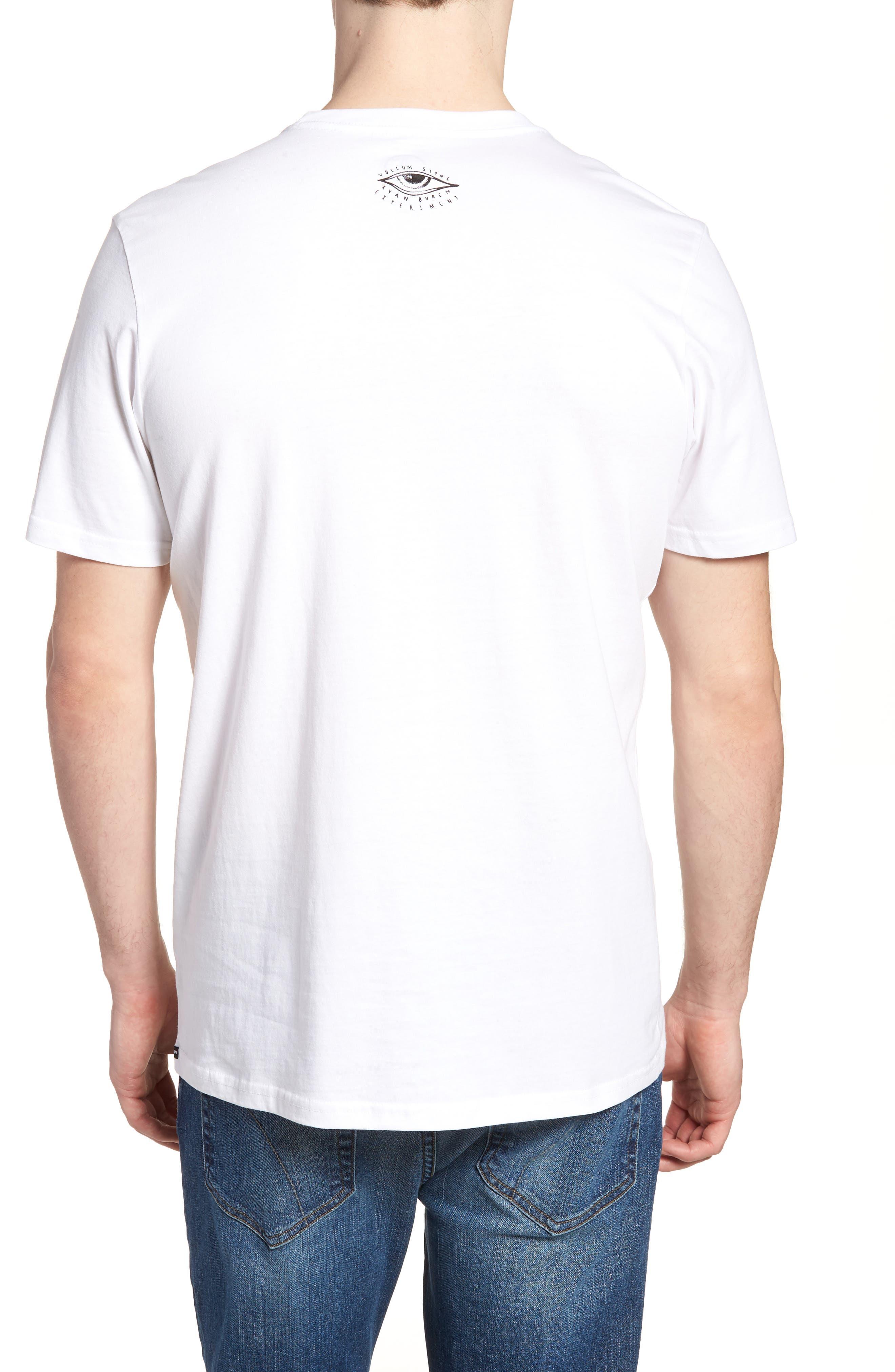 Burch Foam Graphic T-Shirt,                             Alternate thumbnail 2, color,                             White