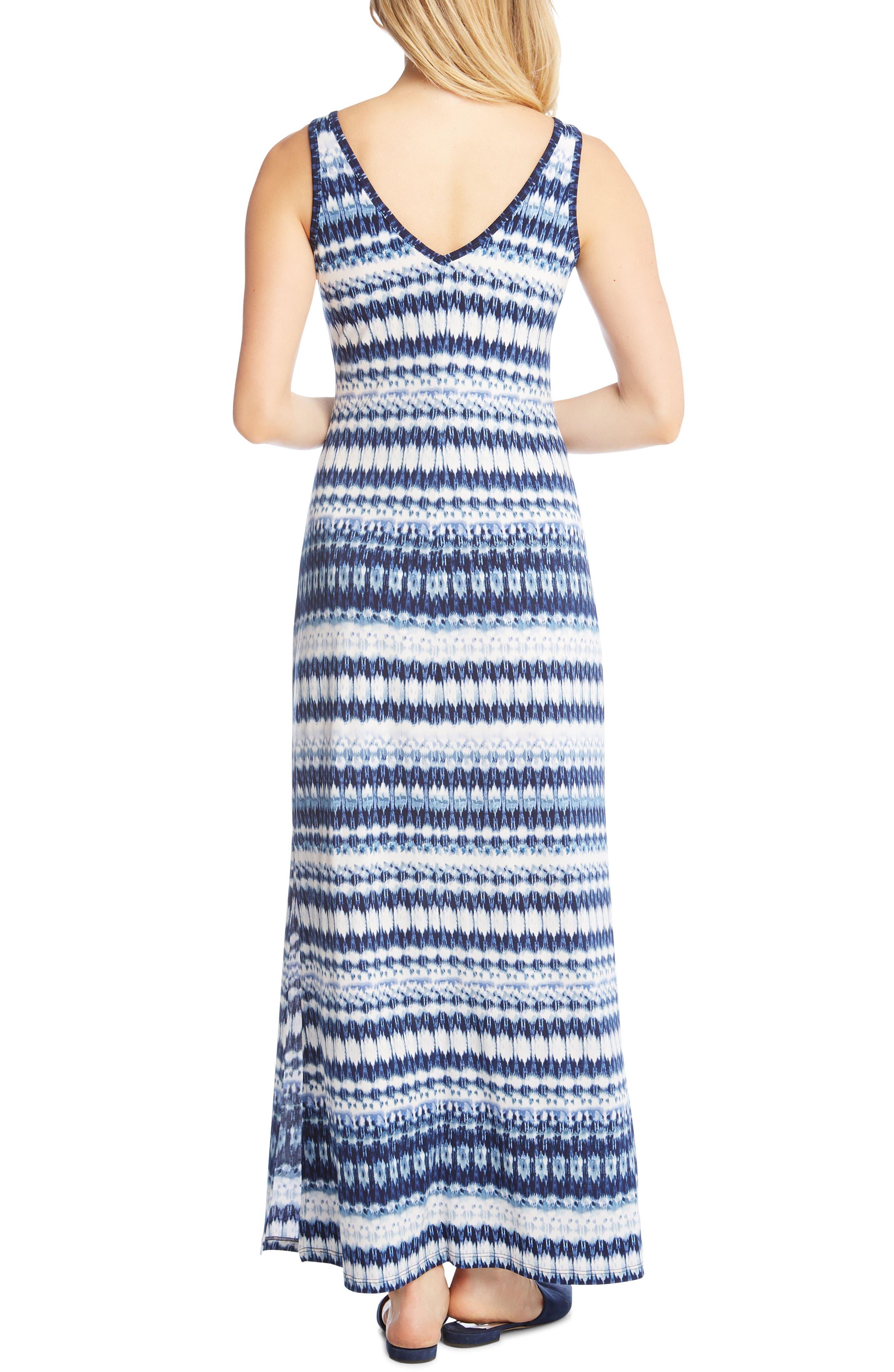 Side Slit Maxi Dress,                             Alternate thumbnail 2, color,                             Print