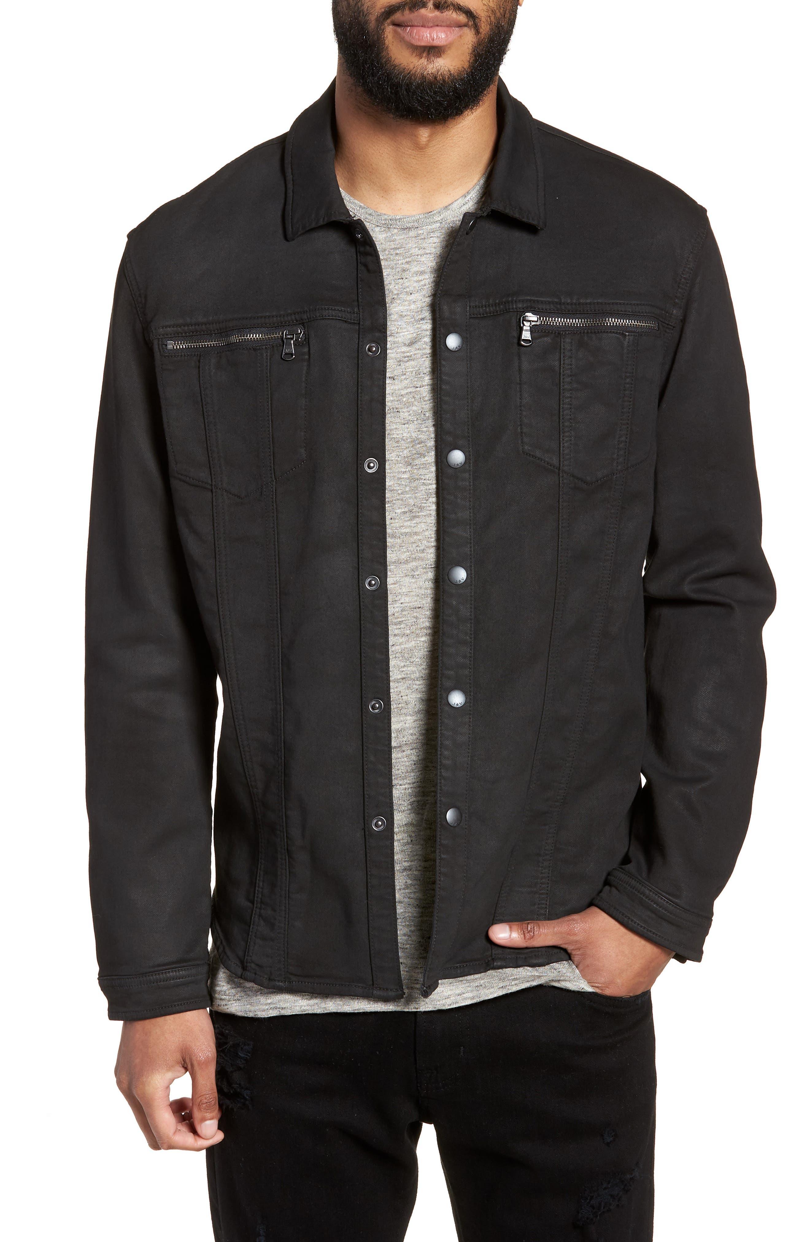 John Varvatos x Nick Jonas Knit Jacket