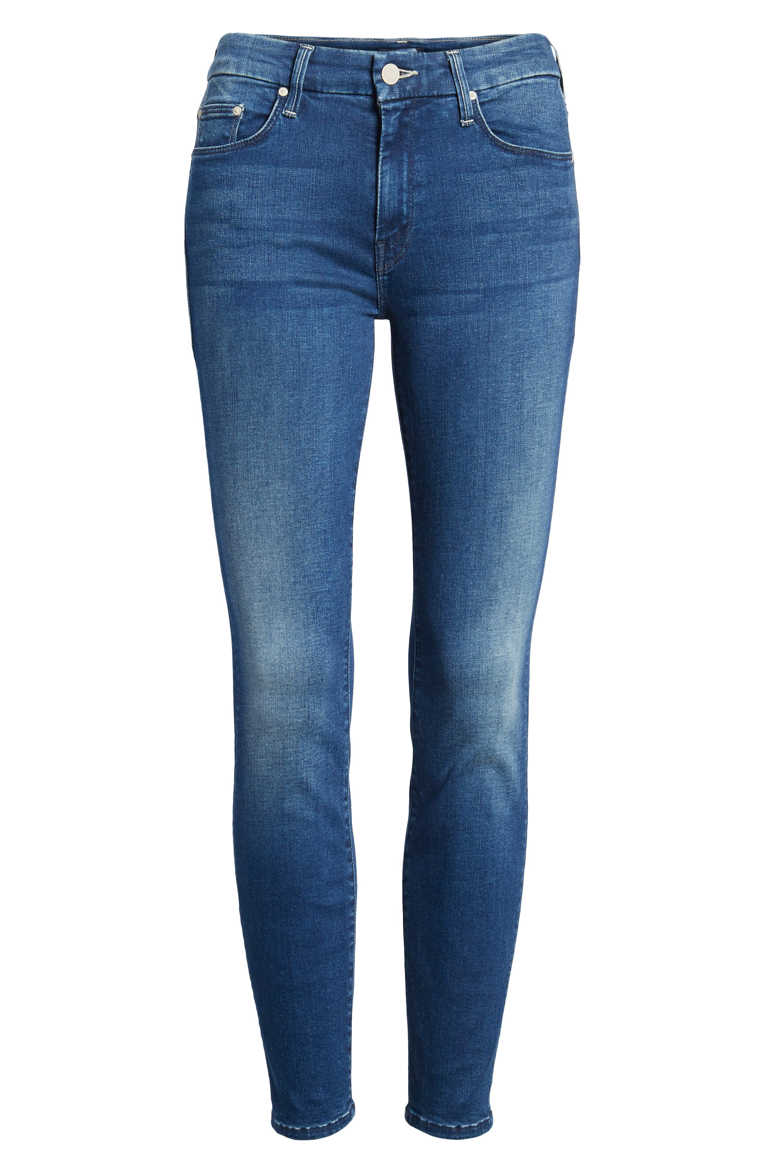 The Looker Crop Skinny Jeans,                             Alternate thumbnail 7, color,                             Fast Times