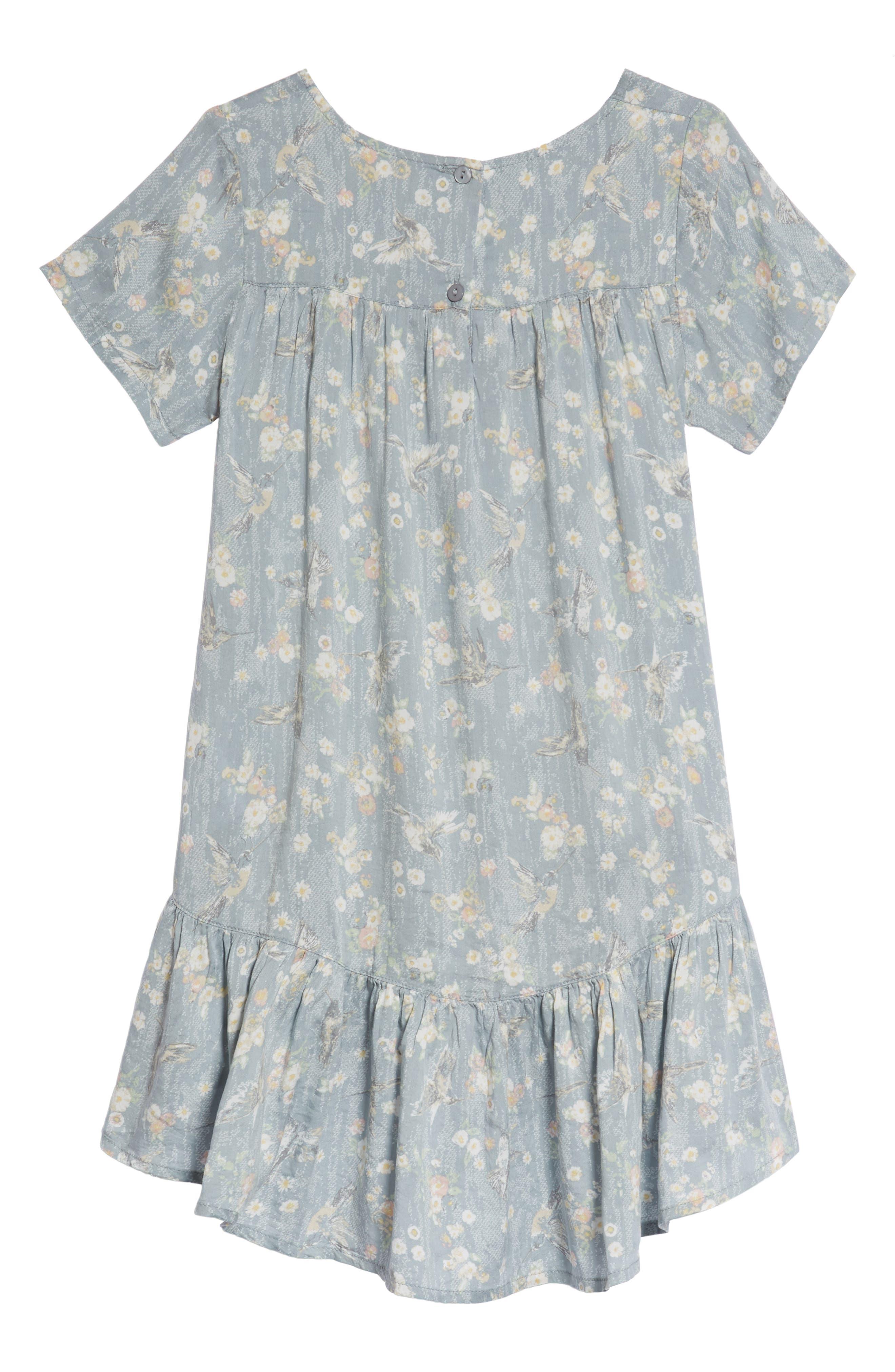 Noemi Swing Dress,                             Alternate thumbnail 2, color,                             Sky