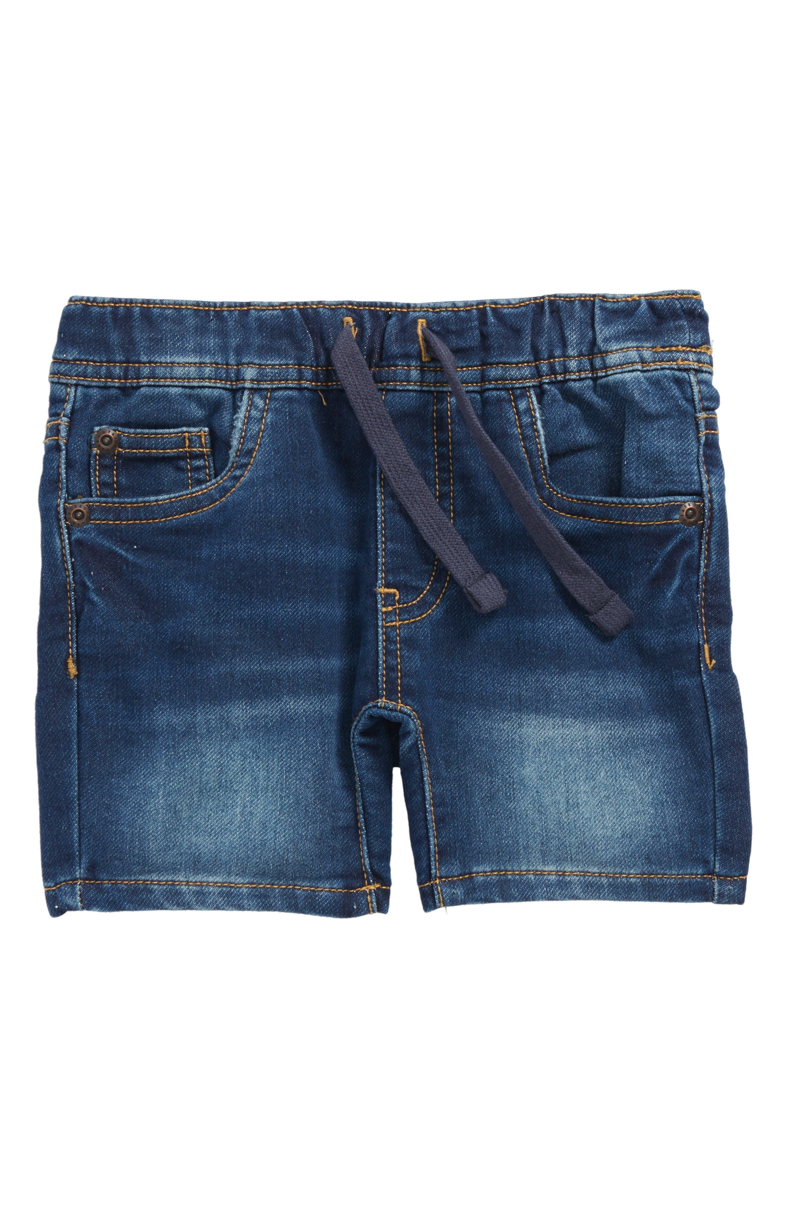 Denim Shorts,                             Main thumbnail 1, color,                             Bale Wash