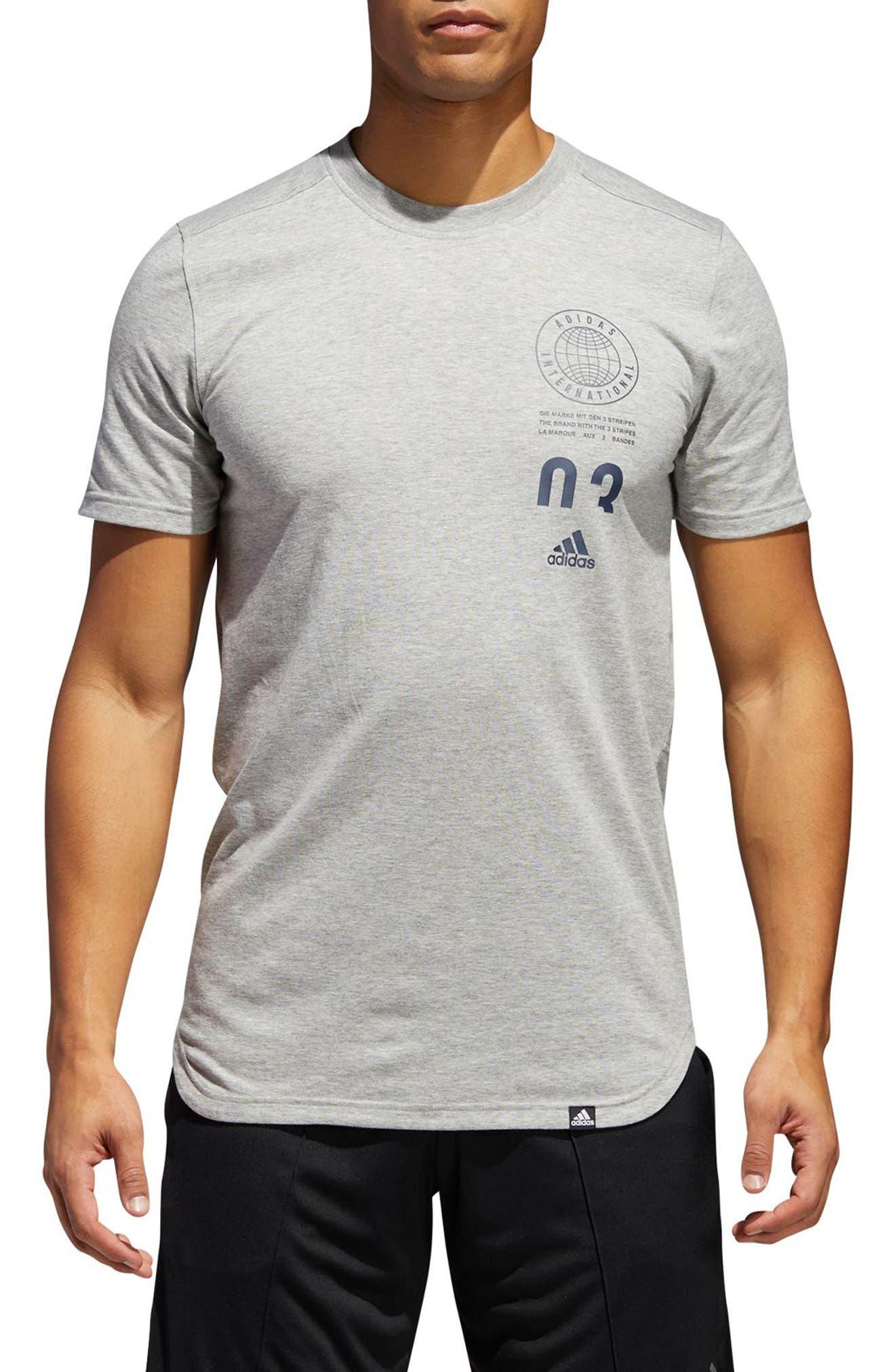 grey t shirt le adidas, pantaloni, magliette, orologi & più nordstrom