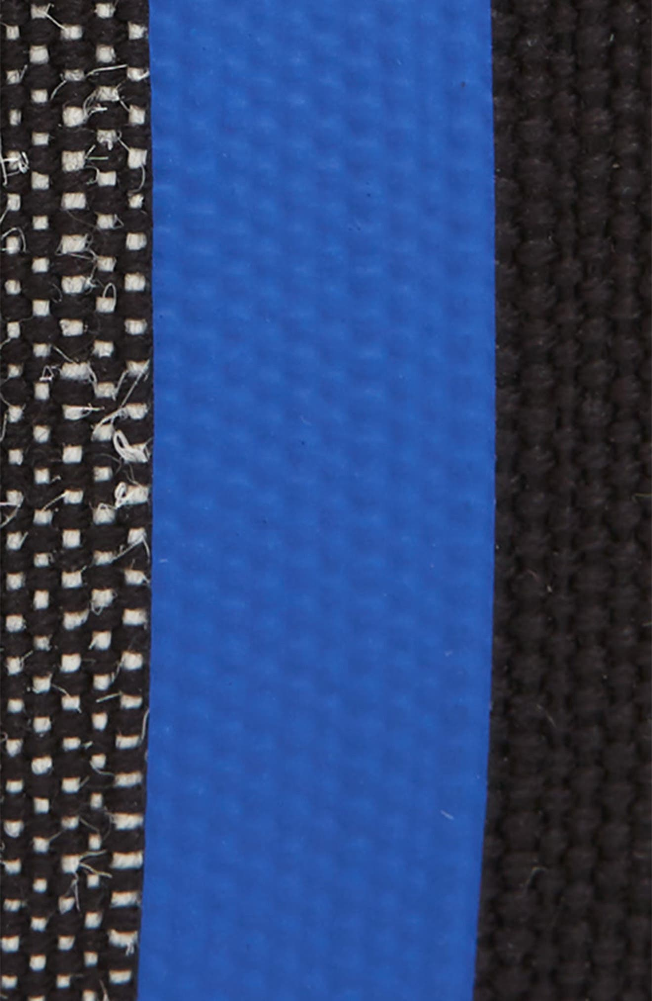 Roller Buckle Woven Belt,                             Alternate thumbnail 2, color,                             Blueberry/ Black