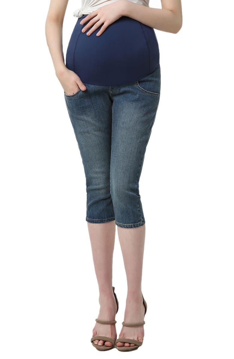 Courtney Capri Maternity Skinny Jeans
