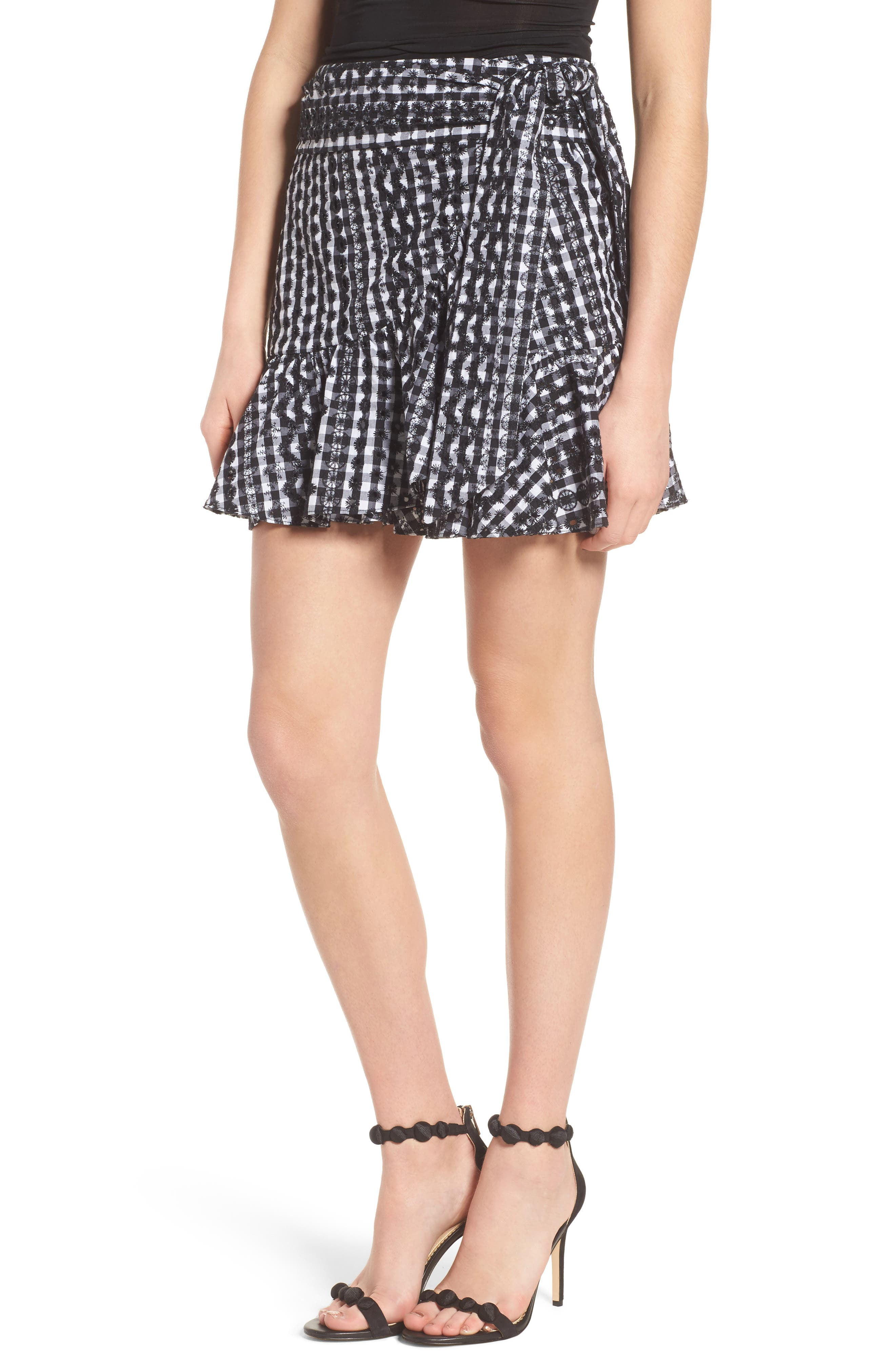 Rebecca Minkoff Alice Faux Wrap Skirt
