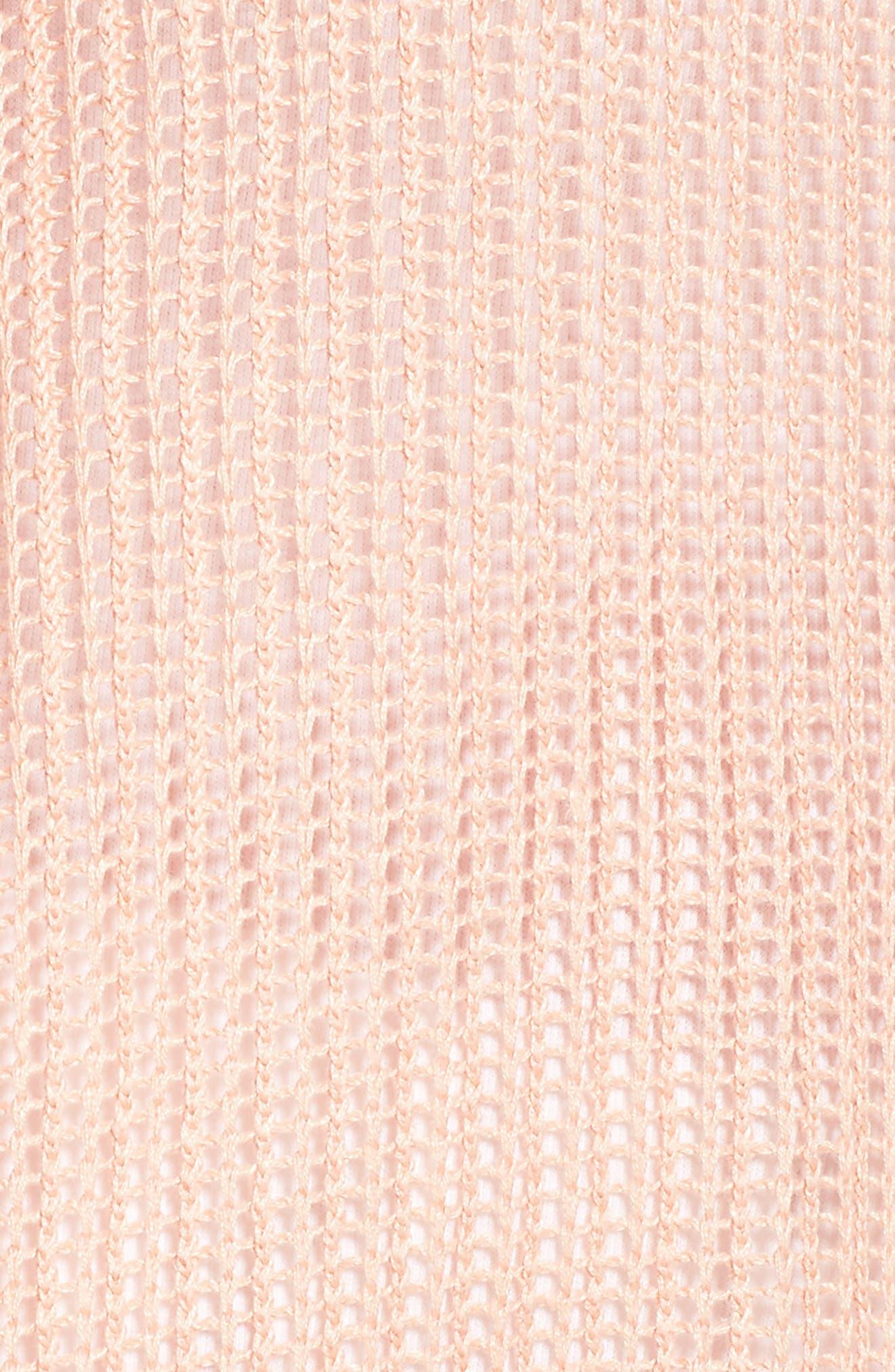 Organic Linen Tunic,                             Alternate thumbnail 6, color,                             Petal