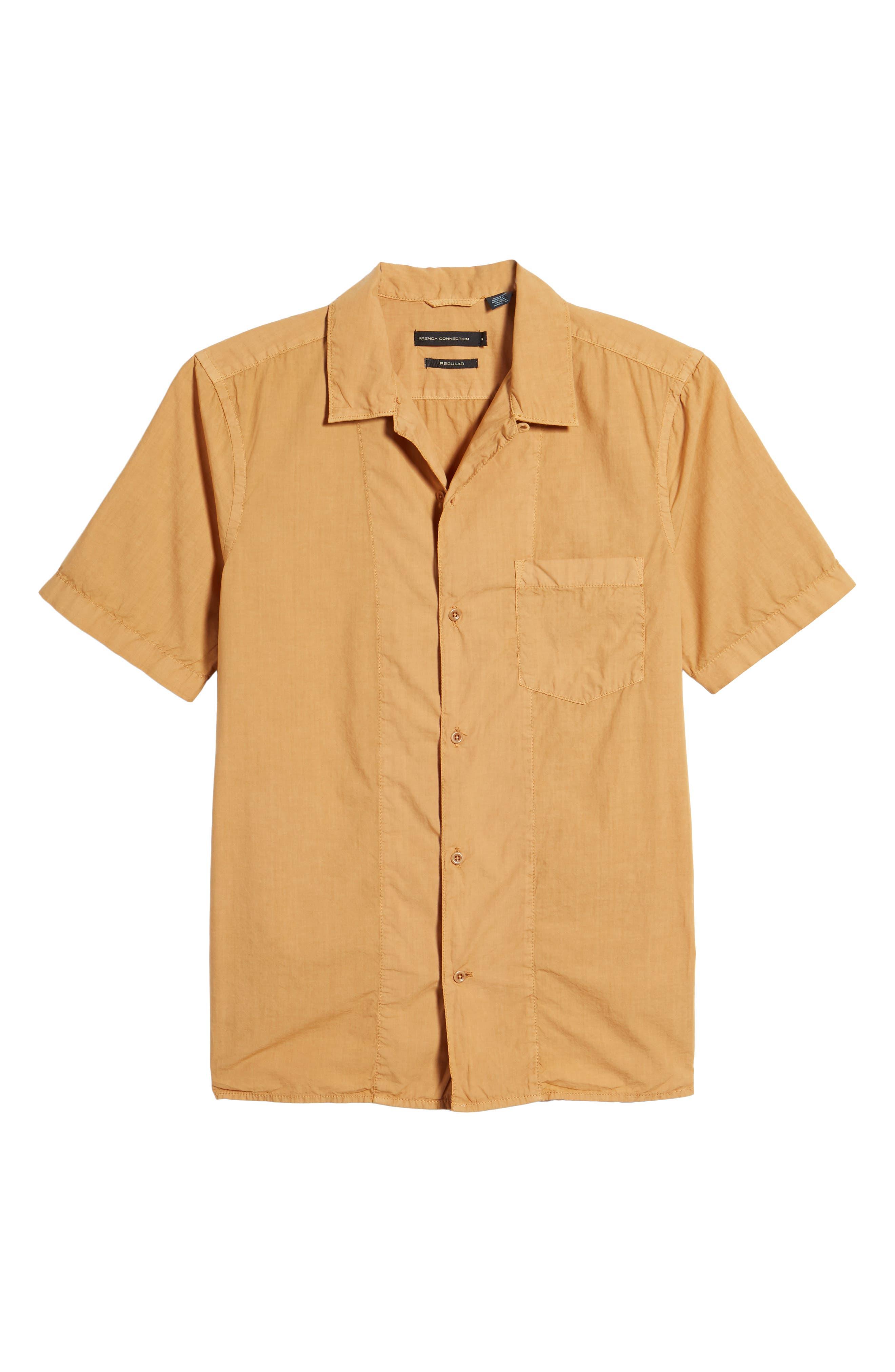 Slim Fit Solid Sport Shirt,                             Alternate thumbnail 6, color,                             Doe