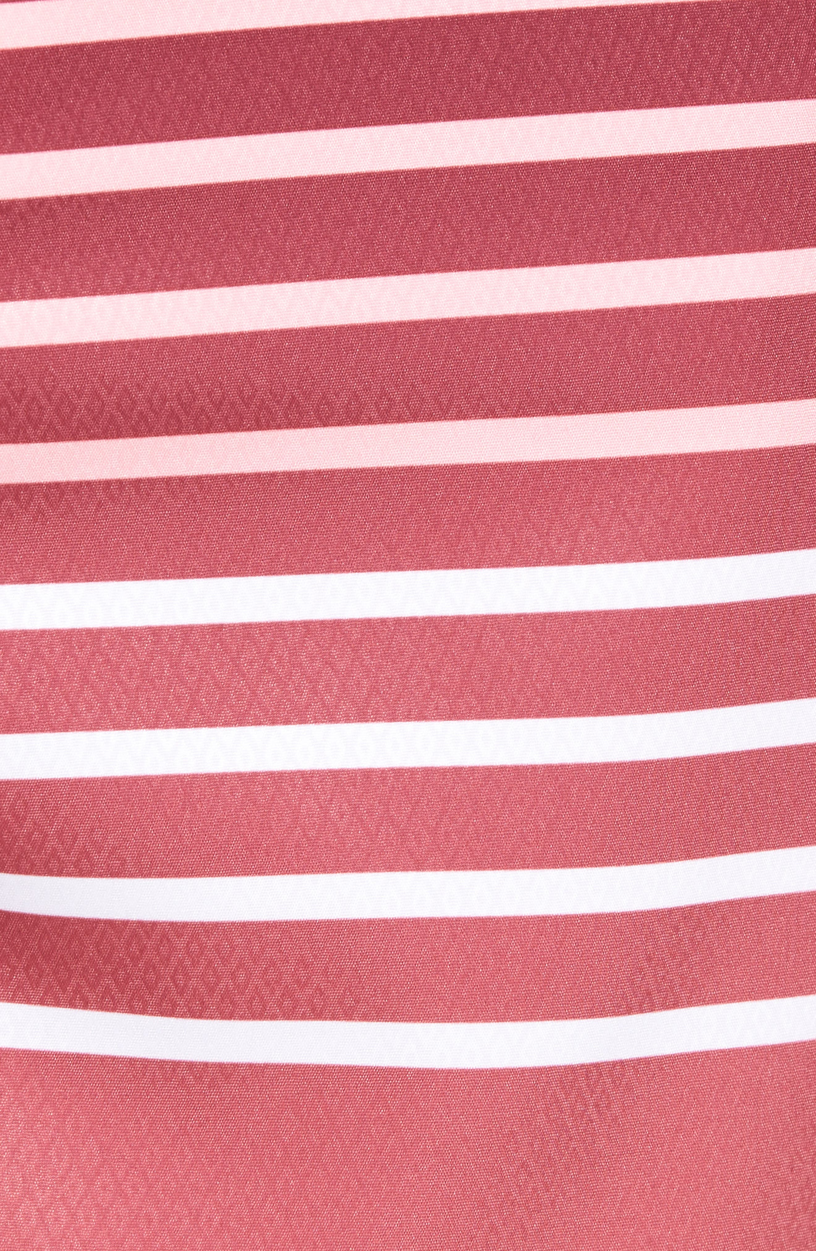 Surflodge Stripe Board Shorts,                             Alternate thumbnail 5, color,                             Jetty Red