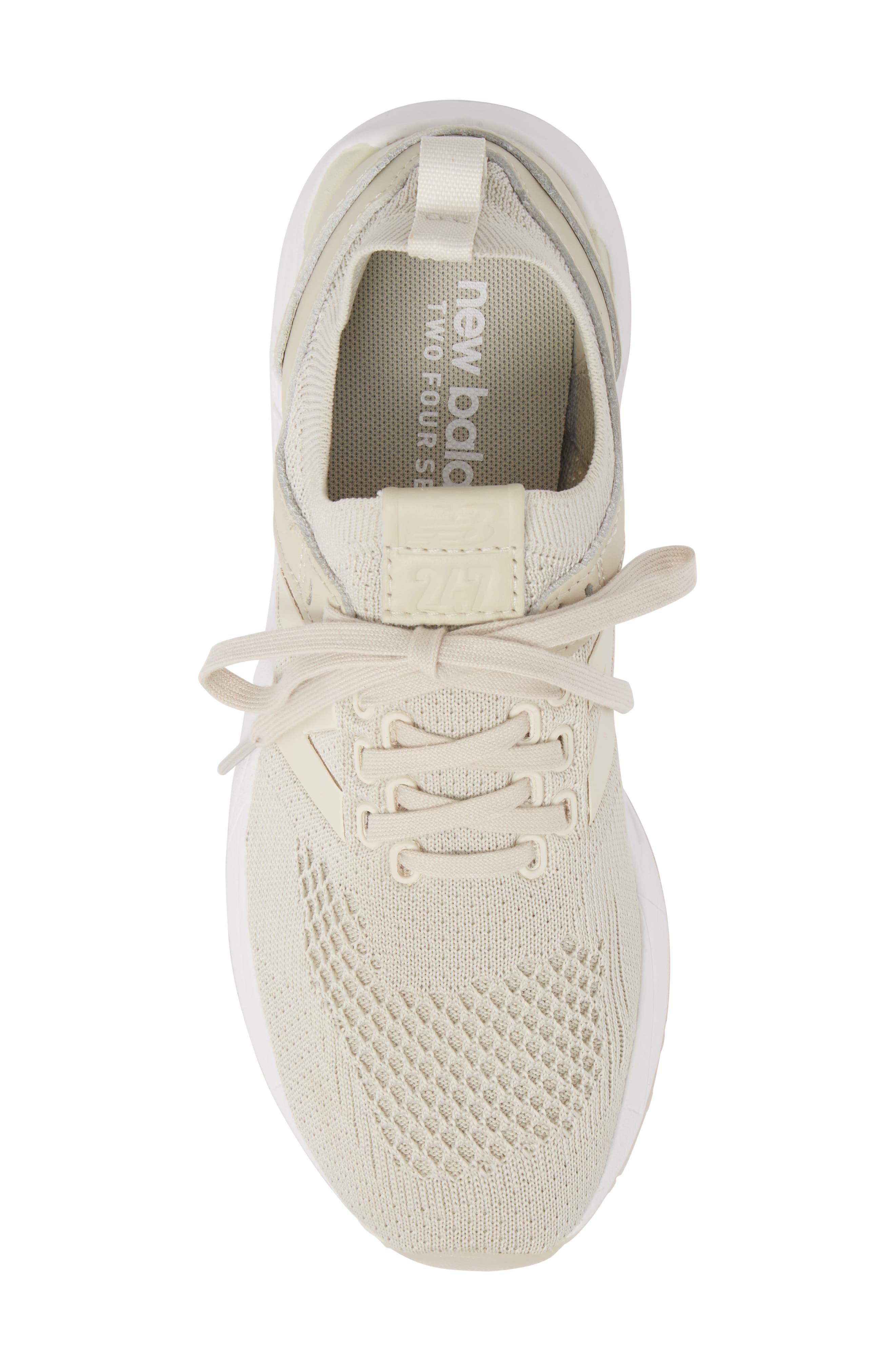 247 Decon Knit Sneaker,                             Alternate thumbnail 5, color,                             Moonbeam