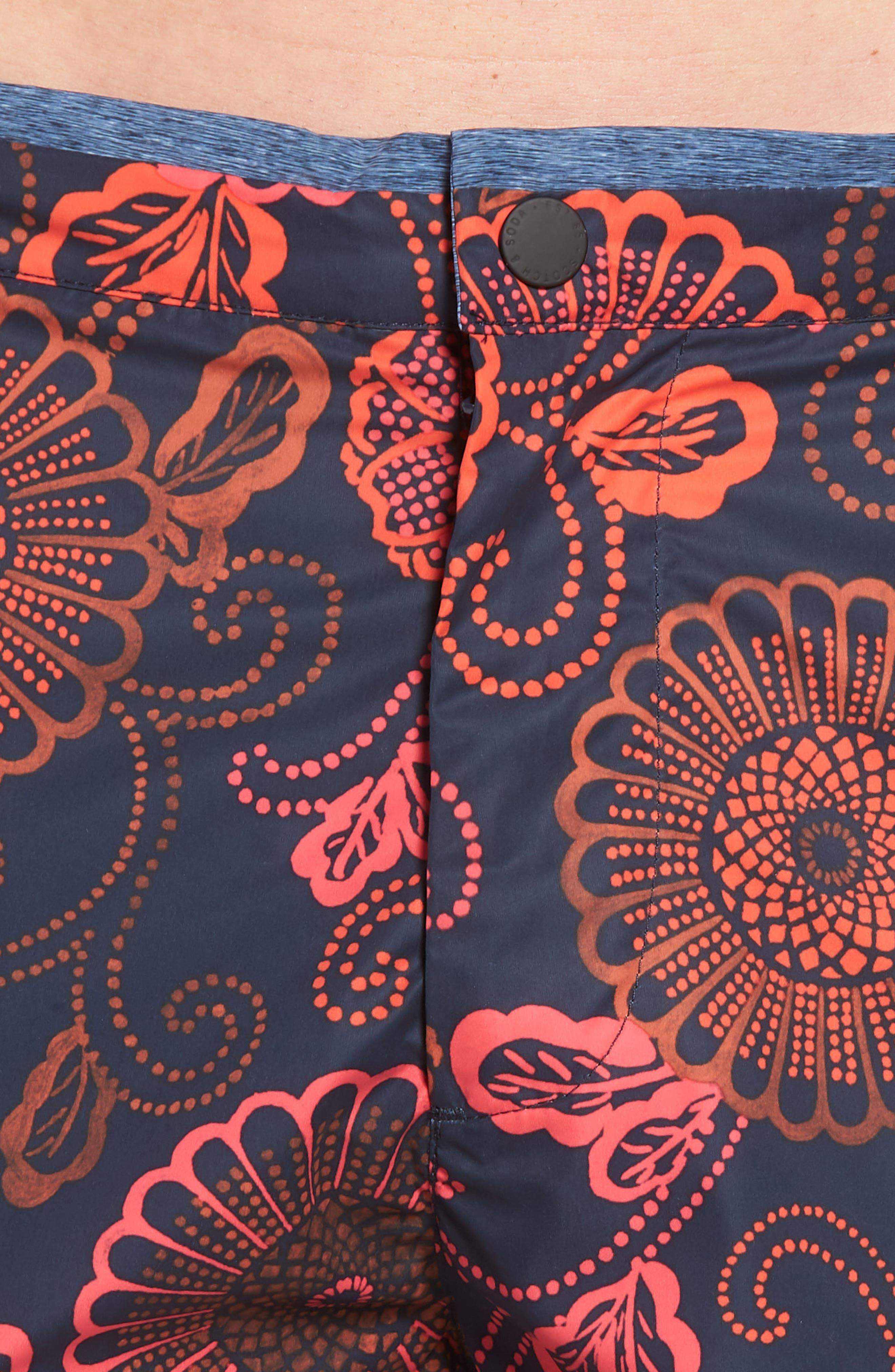 Print Mélange Board Shorts,                             Alternate thumbnail 4, color,                             Combo D