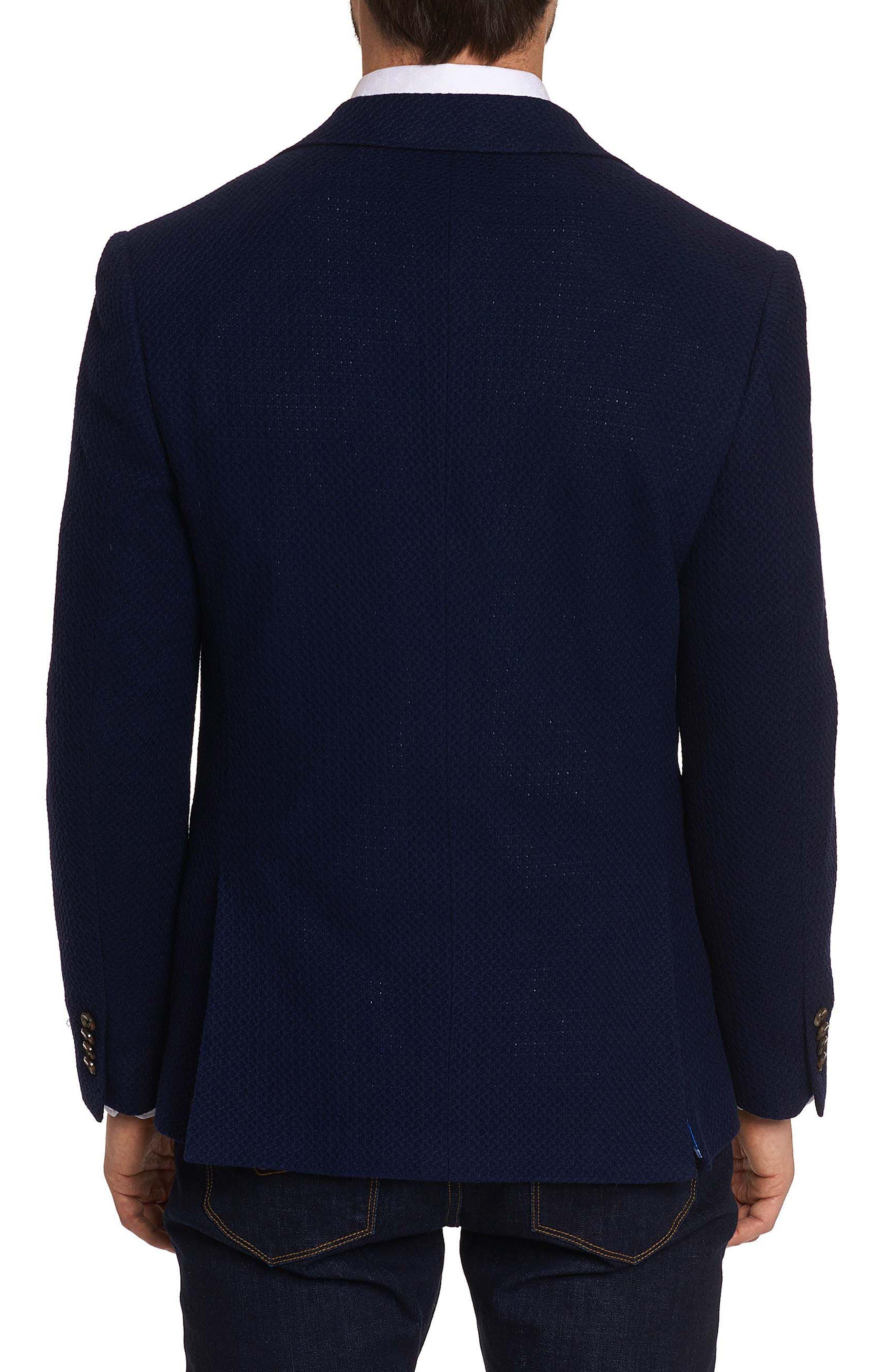 Lauros Woven Sport Coat,                             Alternate thumbnail 2, color,                             Navy