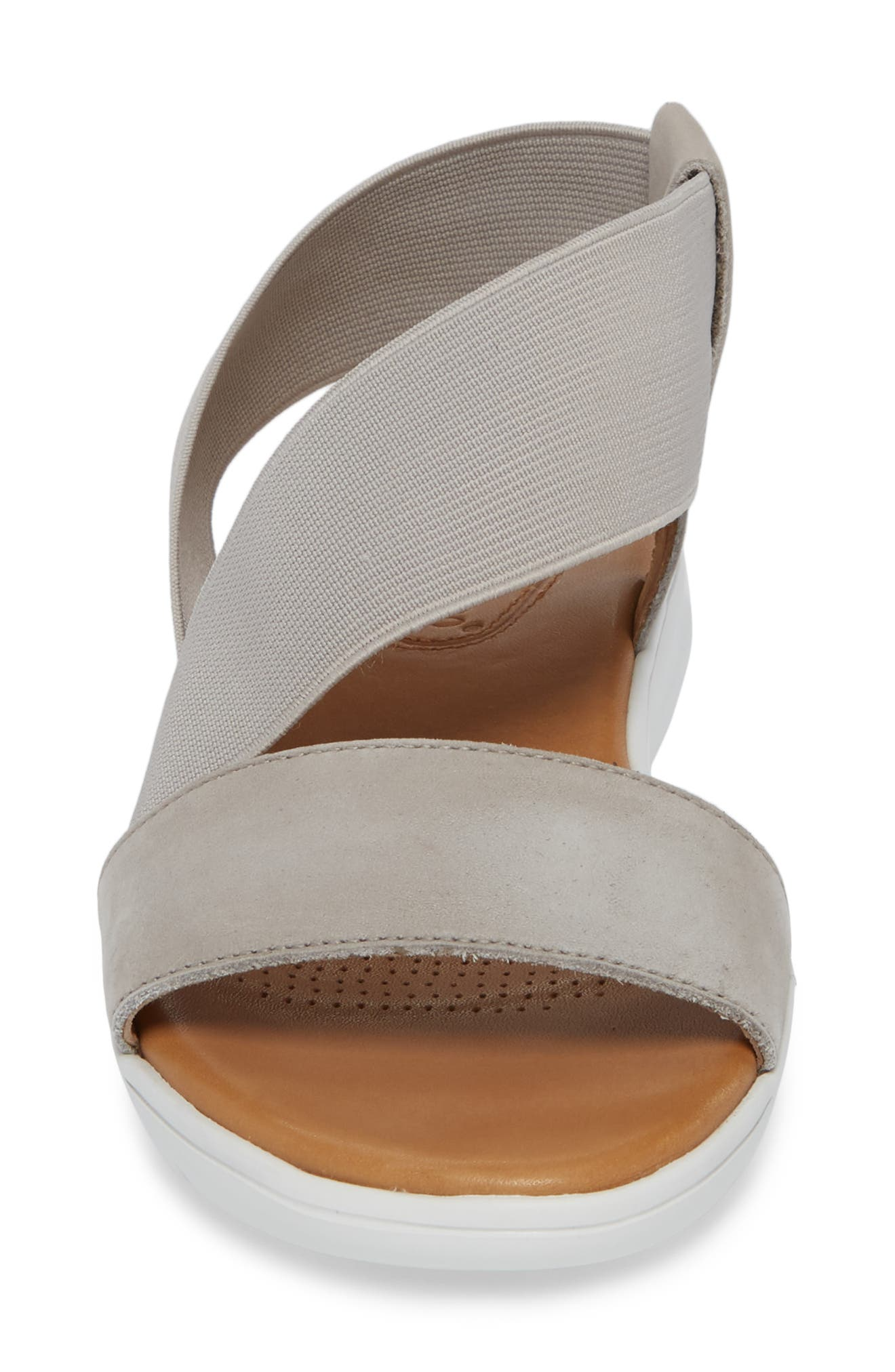 Tanyah Sandal,                             Alternate thumbnail 4, color,                             Grey Leather