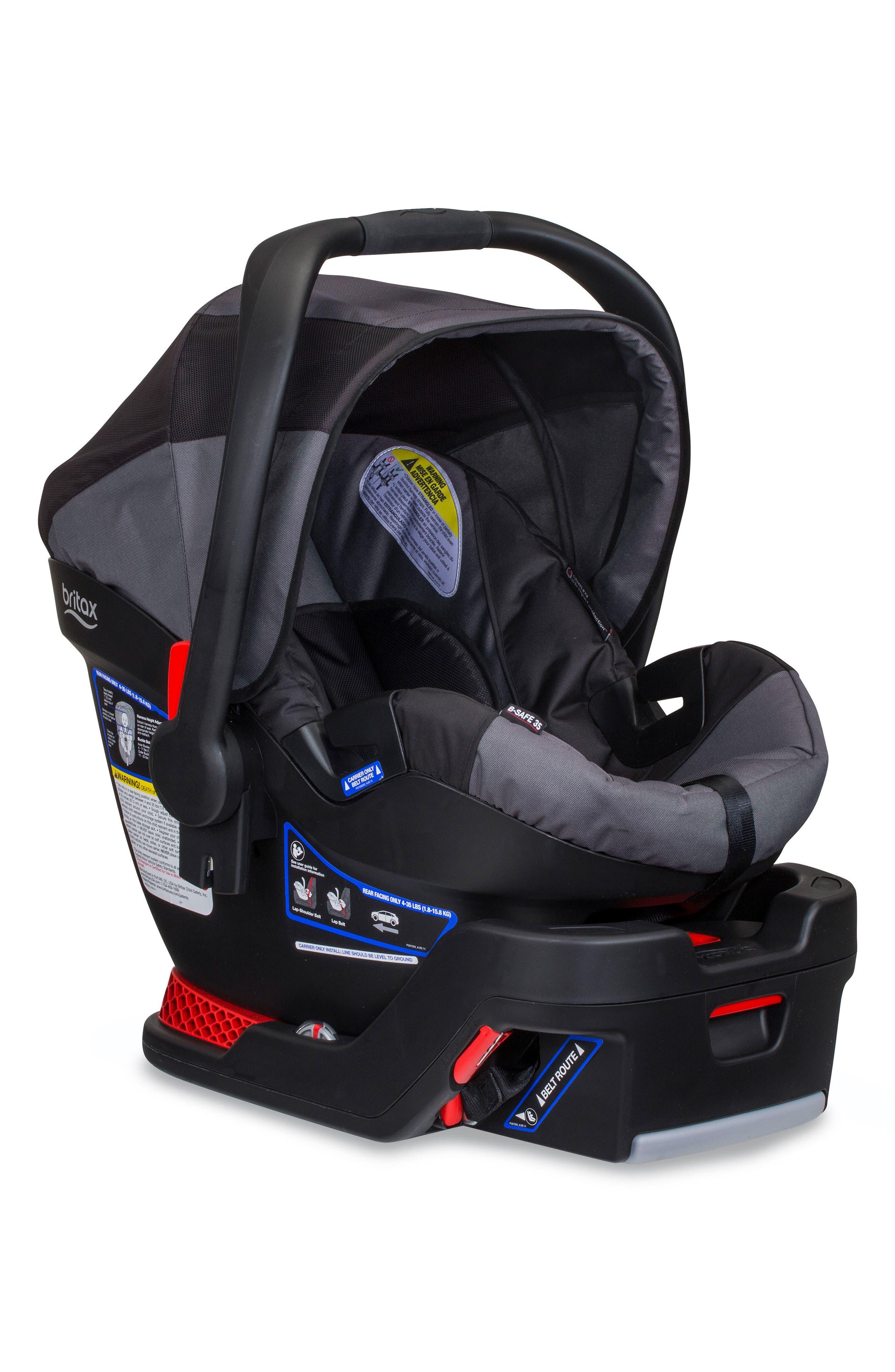 B-Safe 35 by Britax Infant Car Seat & Base,                         Main,                         color, Black