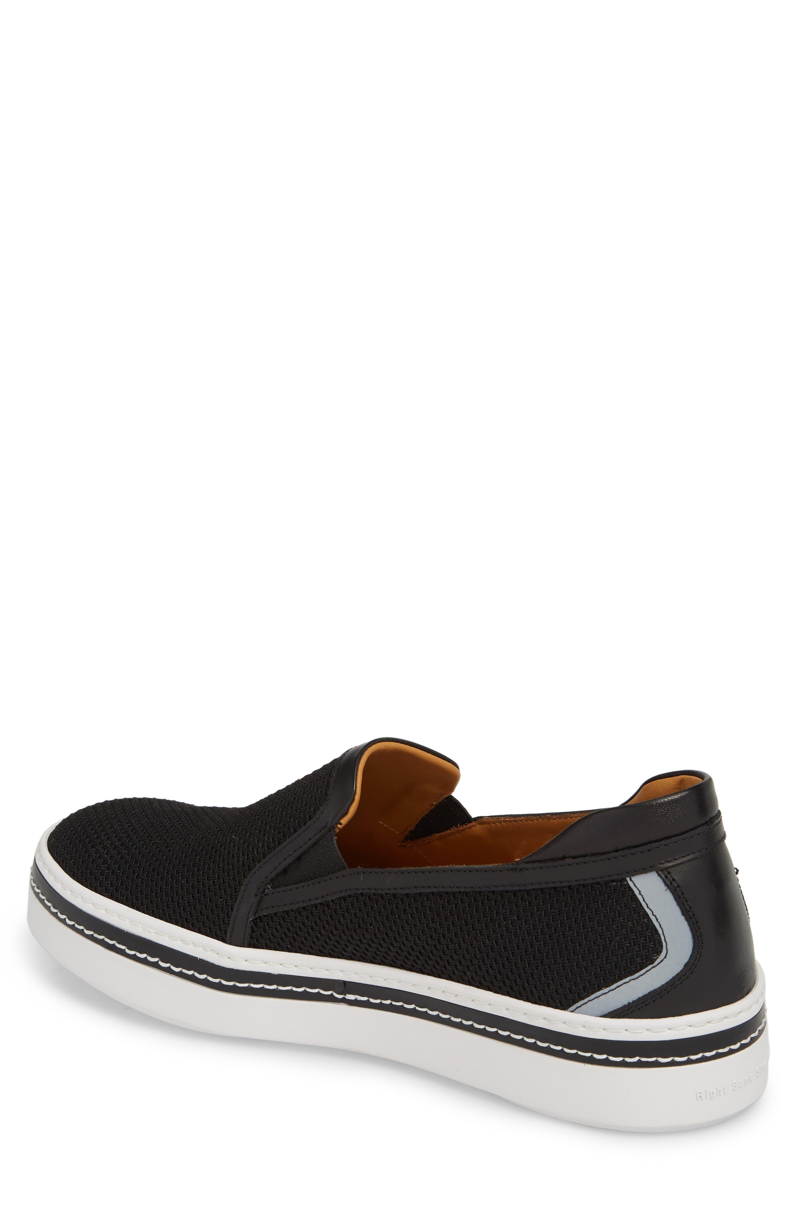 Sal Mesh Slip-On Sneaker,                             Alternate thumbnail 2, color,                             Black Mesh