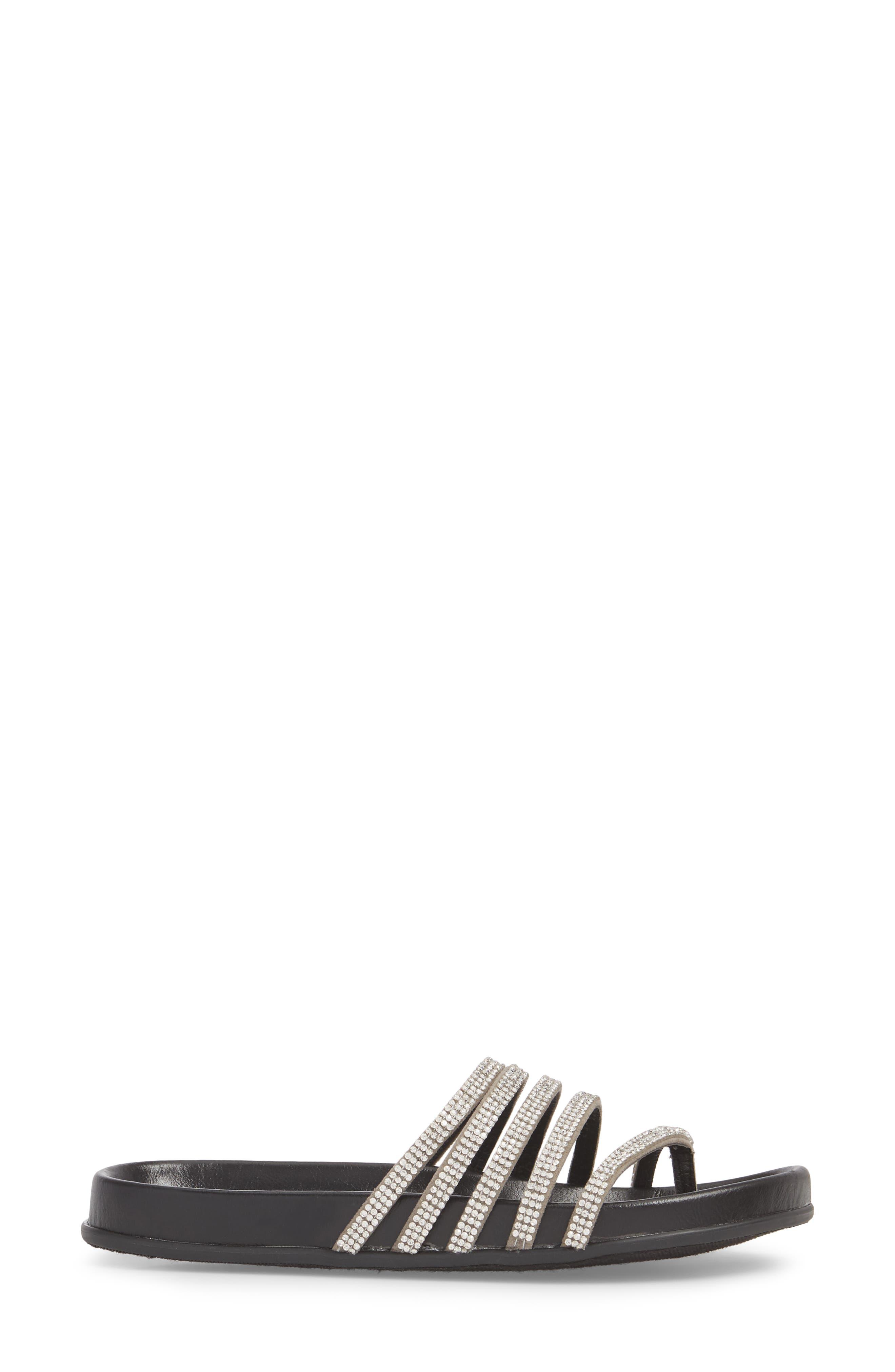 Kendari Sandal,                             Alternate thumbnail 3, color,                             Silver
