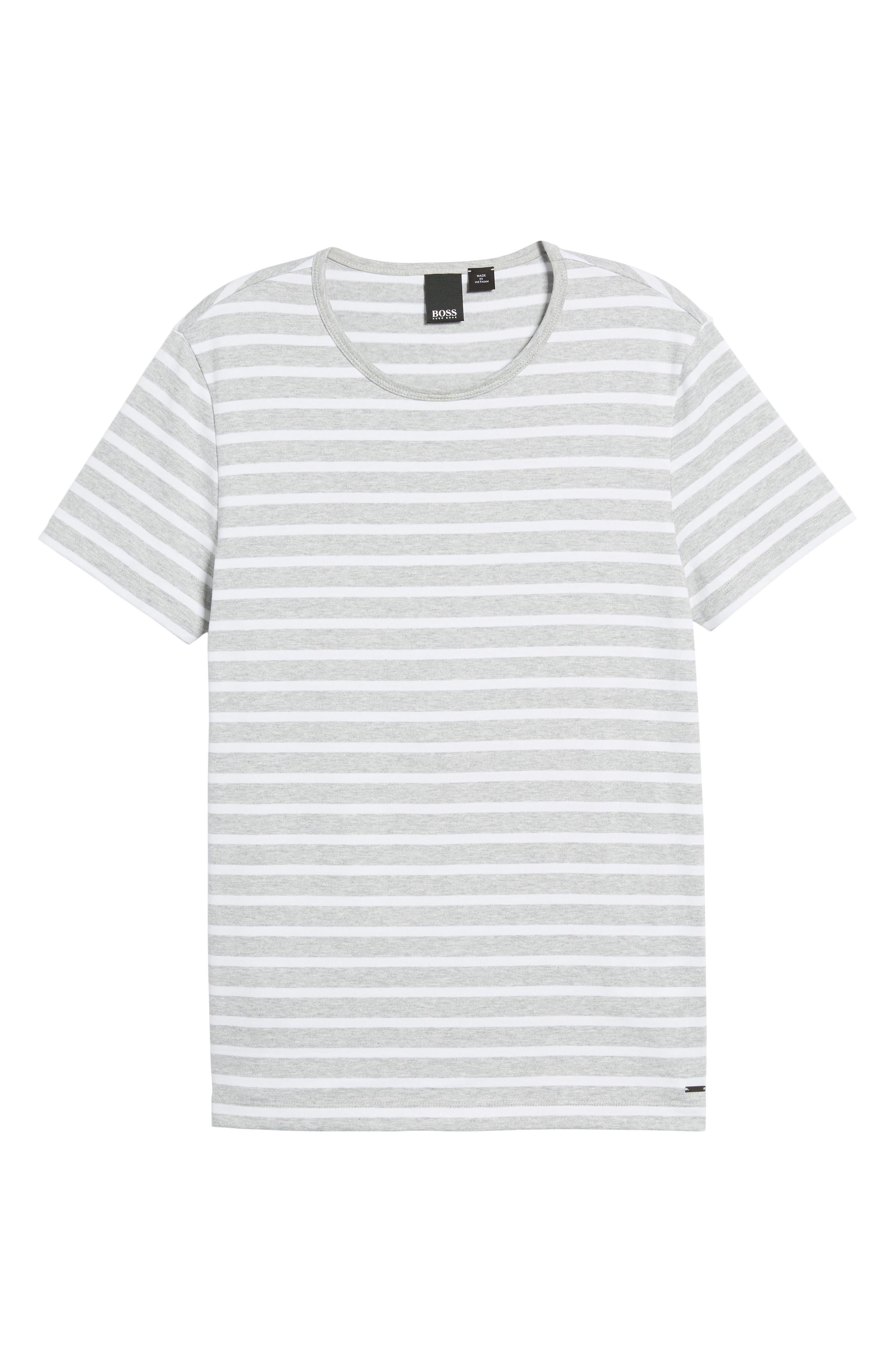 Tessler Slim Fit Crewneck T-Shirt,                             Alternate thumbnail 6, color,                             Grey