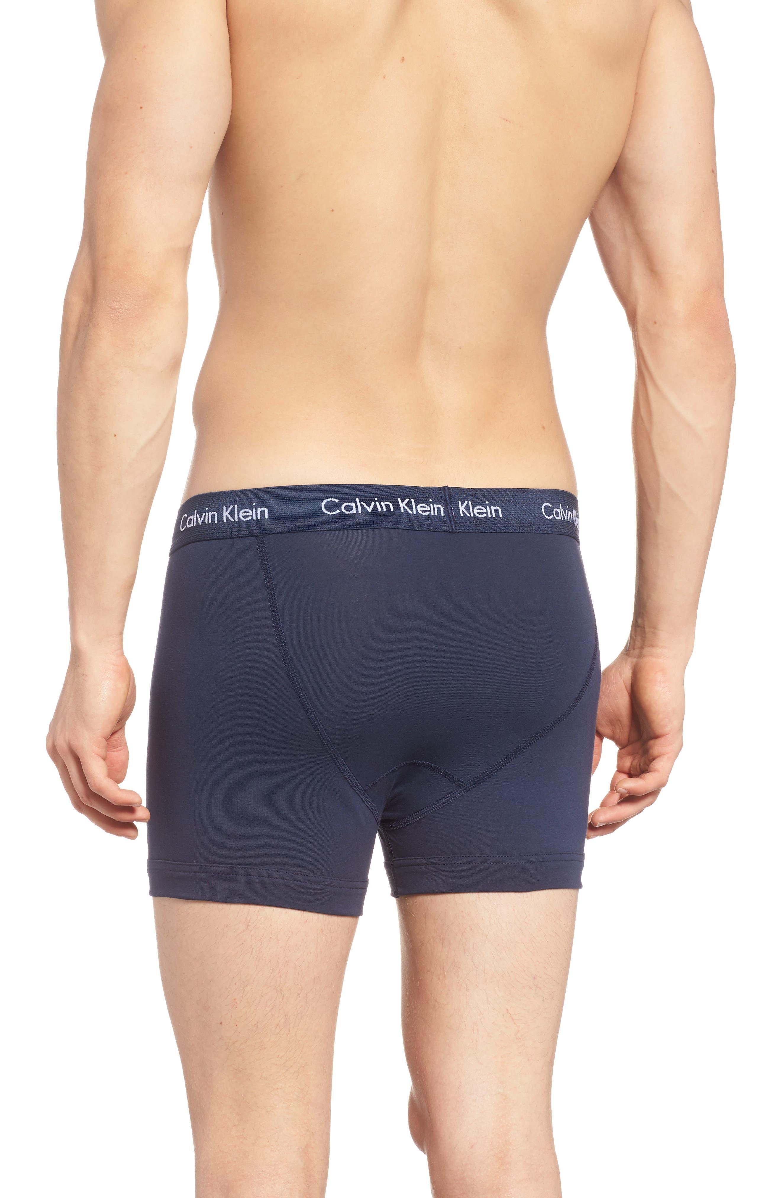Alternate Image 2  - Calvin Klein 3-Pack Trunks