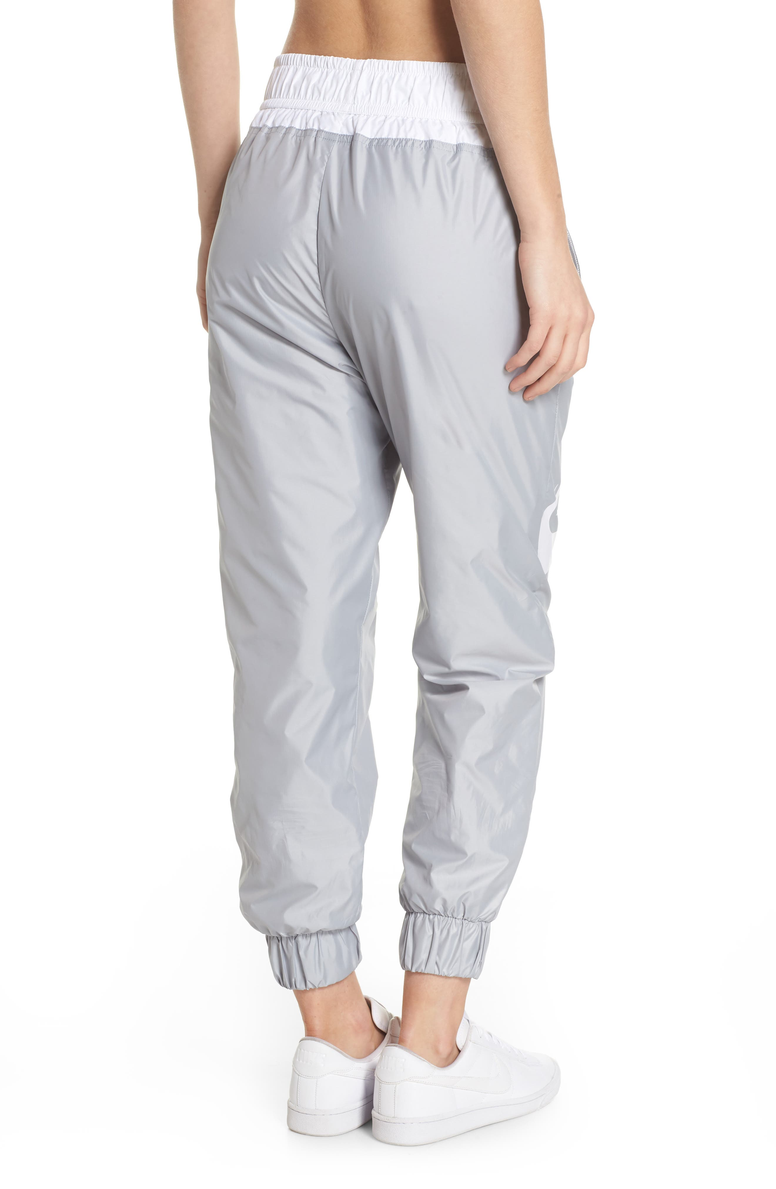 Sportswear Windrunner pants,                             Alternate thumbnail 2, color,                             Wolf Grey/ Summit White