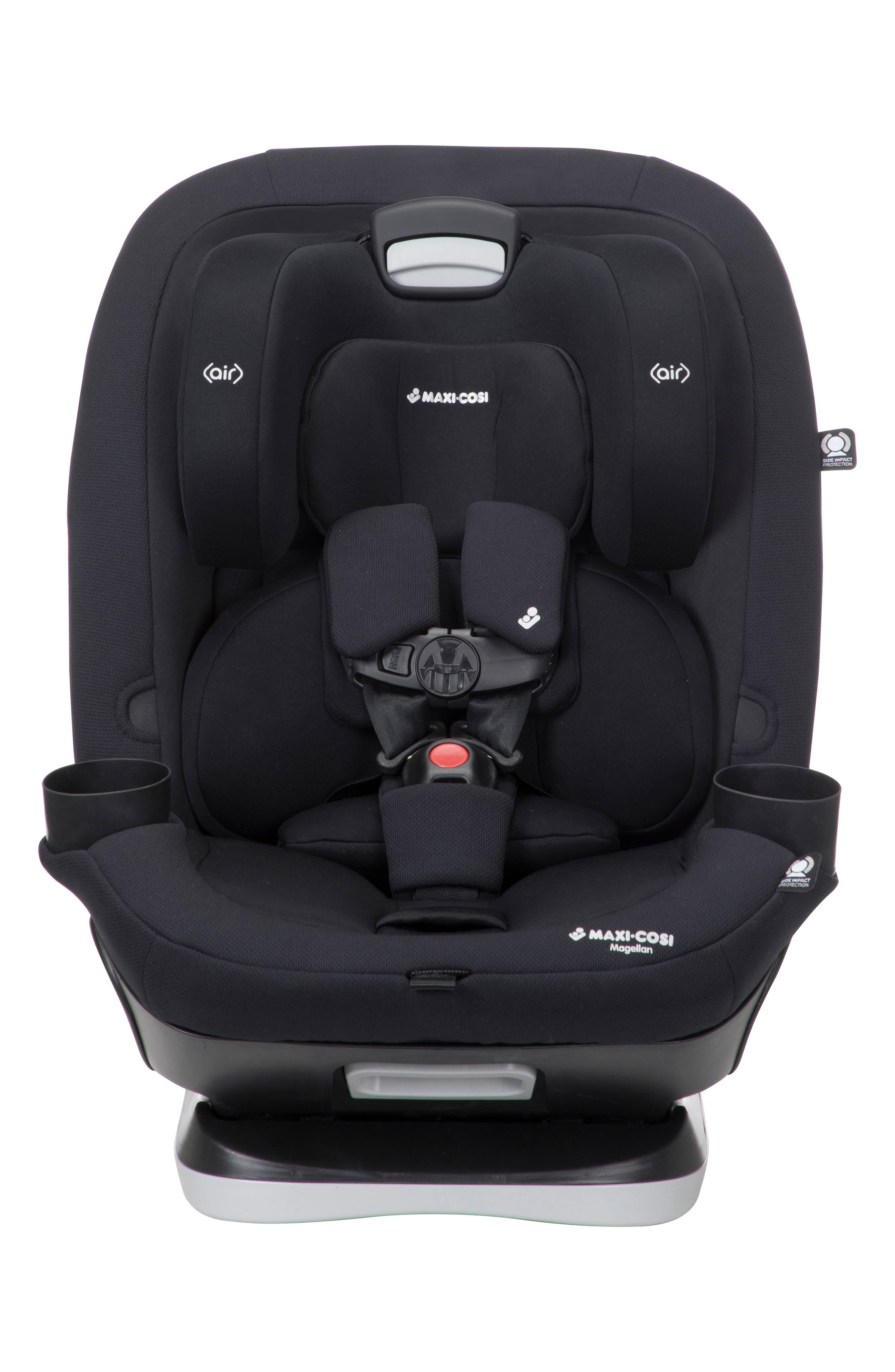 Magellan 2018 5-in-1 Convertible Car Seat,                             Main thumbnail 1, color,                             Night Black