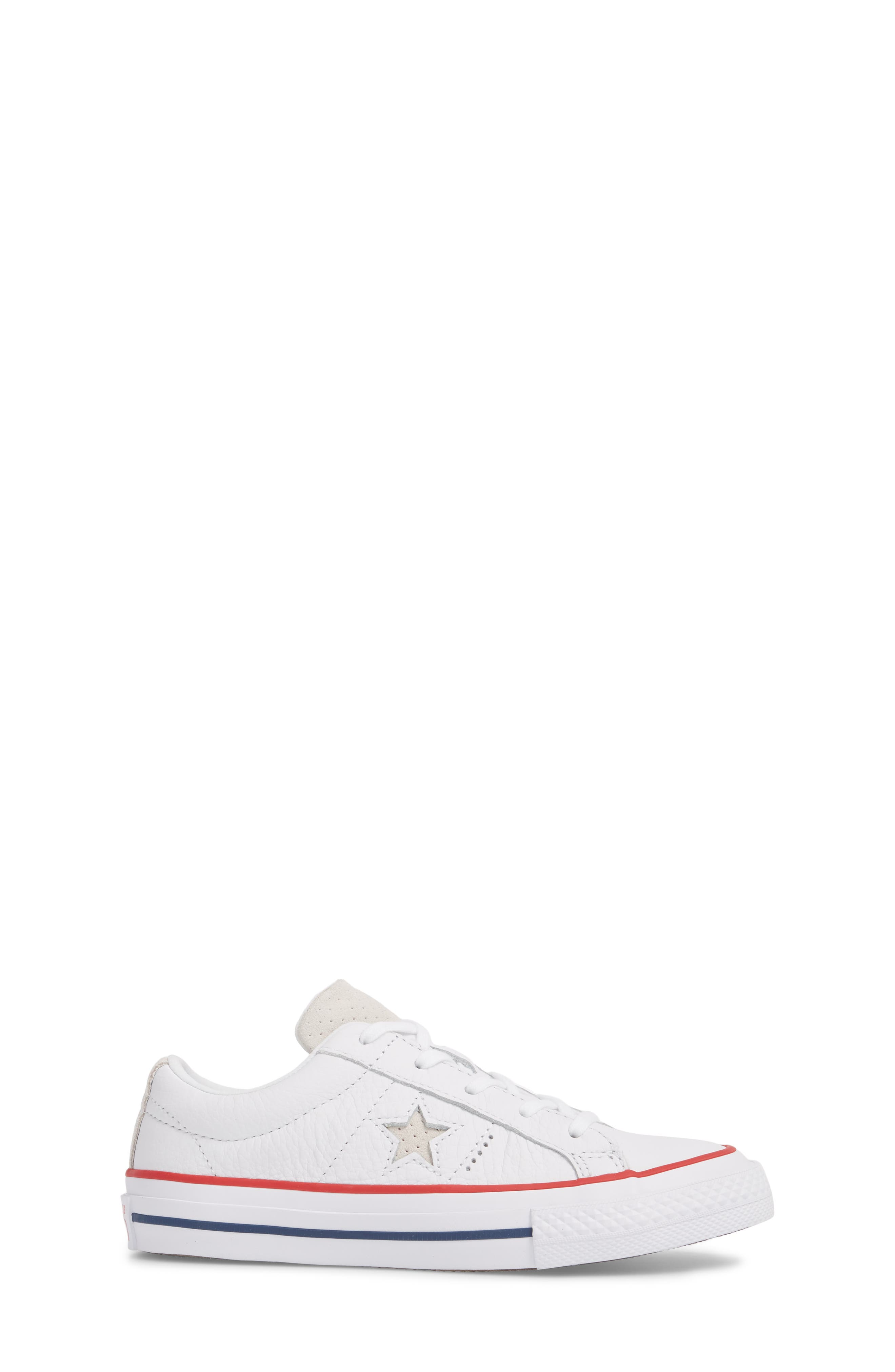 Chuck Taylor<sup>®</sup> All Star<sup>®</sup> New Heritage Oxford Sneaker,                             Alternate thumbnail 3, color,                             White