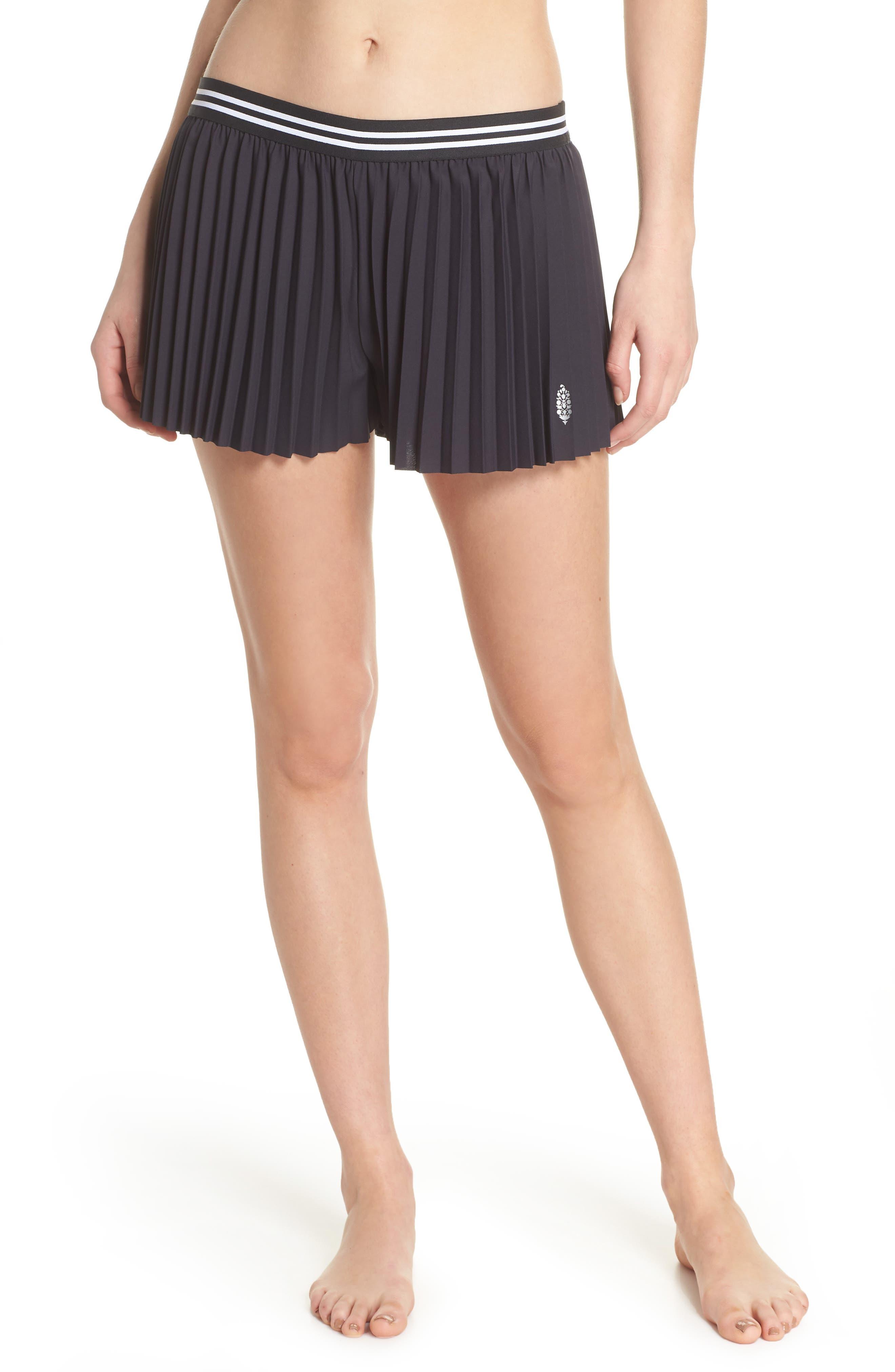 Free People Zephyr Shorts,                         Main,                         color, Black