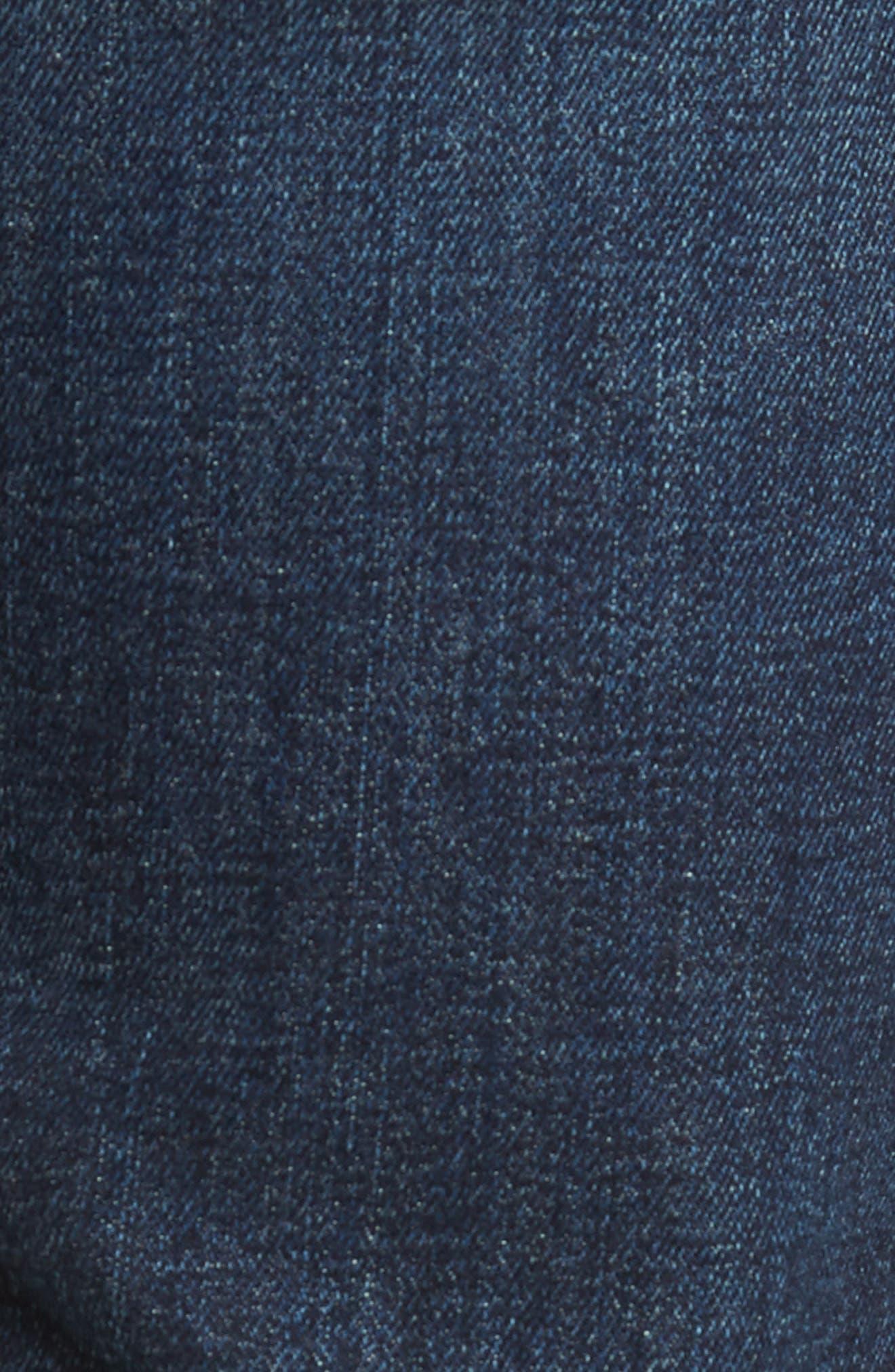 The Standard Straight Leg Jeans,                             Alternate thumbnail 5, color,                             Untouchable