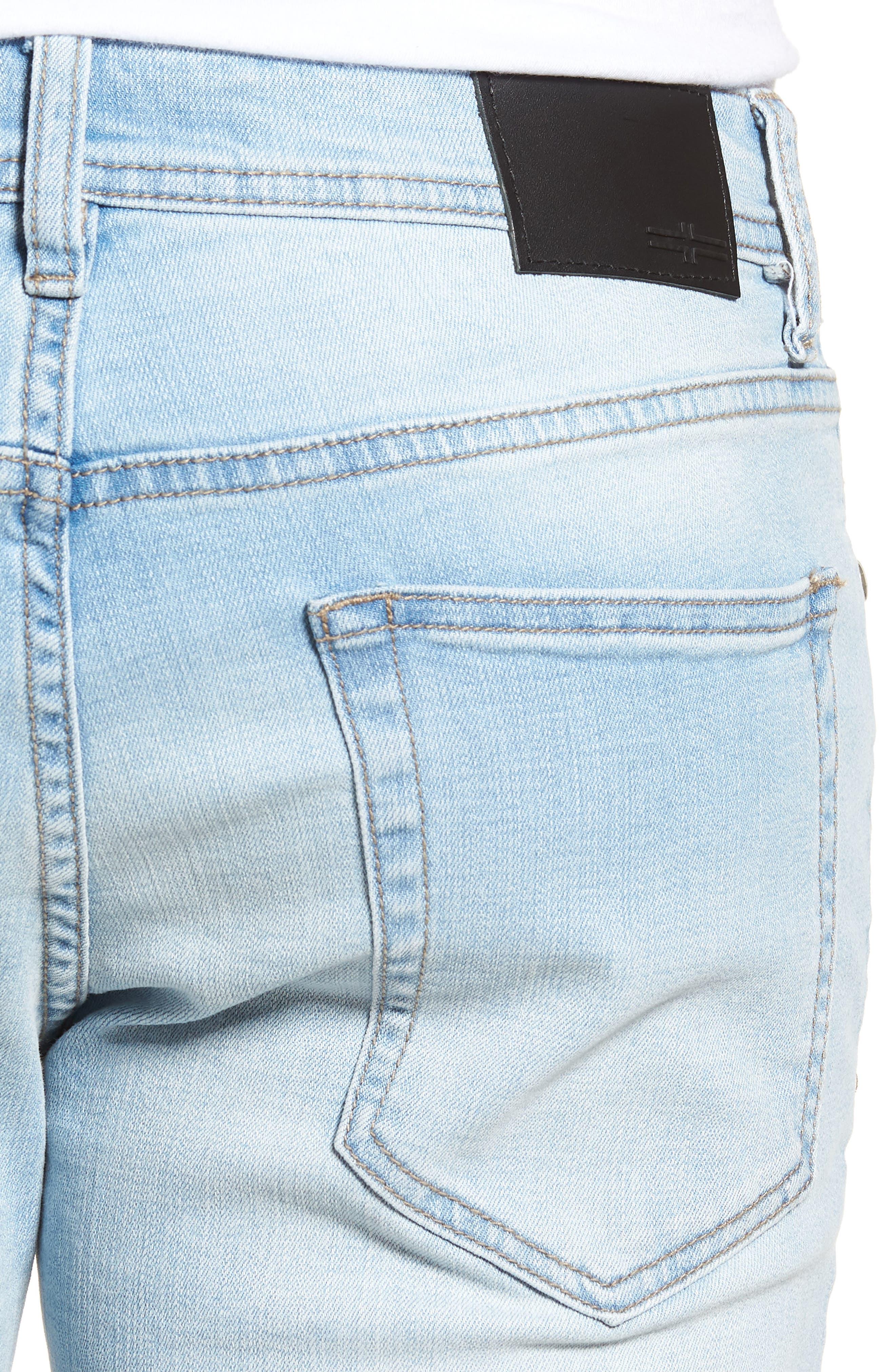 Jeans Co. Straight Leg Jeans,                             Alternate thumbnail 4, color,                             Riverside Light