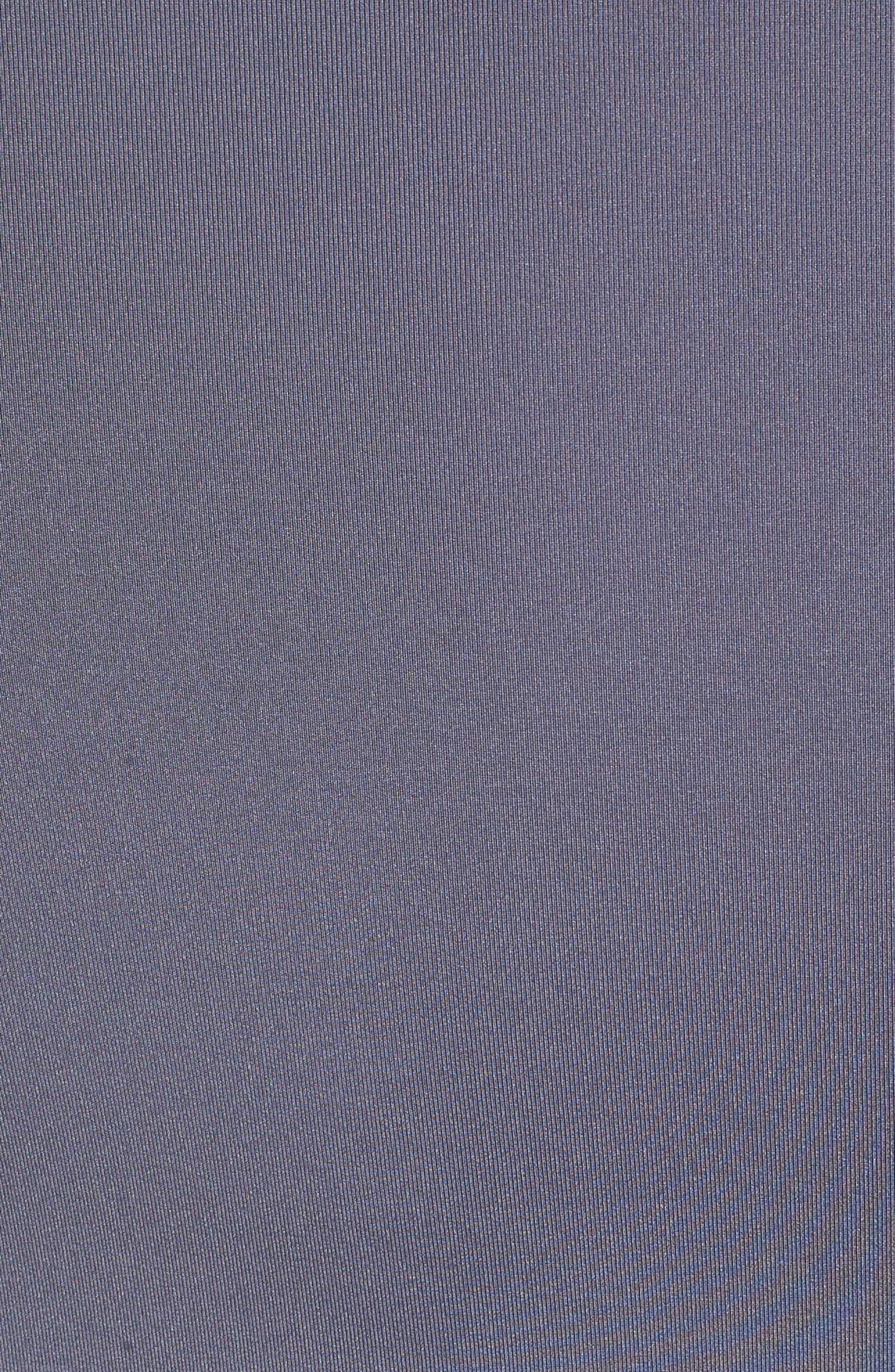Dry Dynamic Slim Fit Polo,                             Alternate thumbnail 5, color,                             Light Carbon/ Black