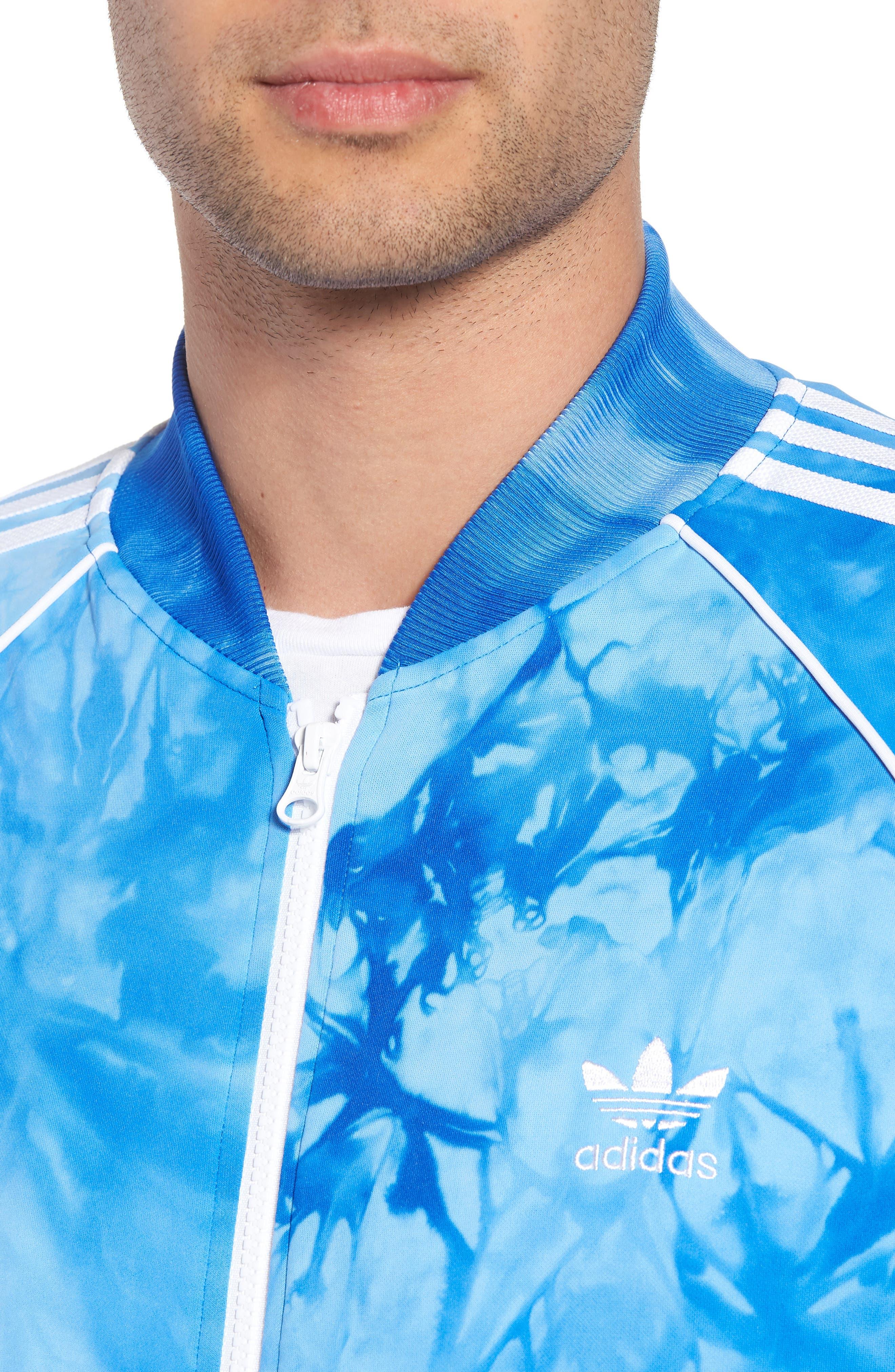 Hu Holi Track Jacket,                             Alternate thumbnail 4, color,                             Blue