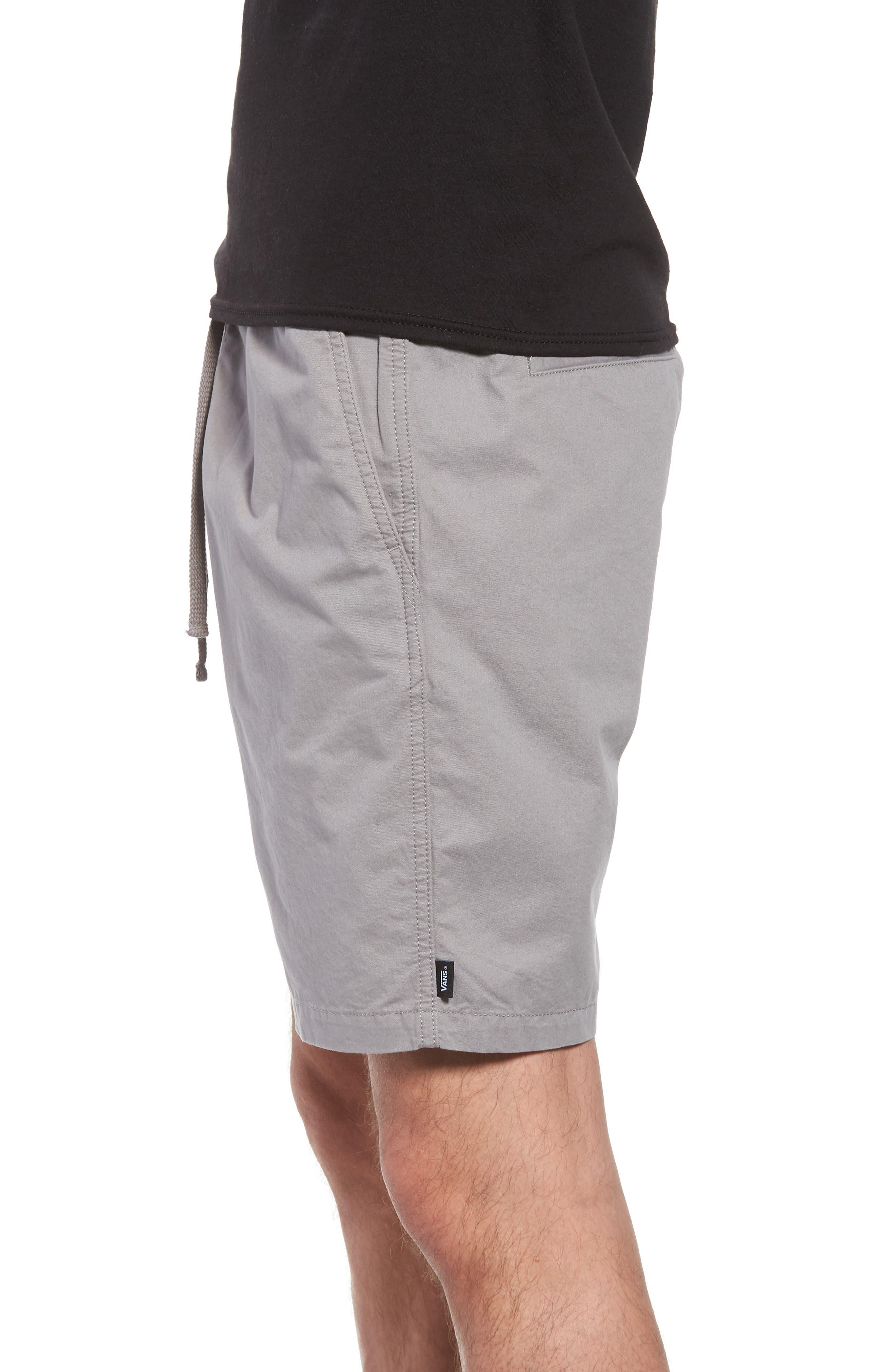 Range Drawstring Shorts,                             Alternate thumbnail 3, color,                             Frost Grey