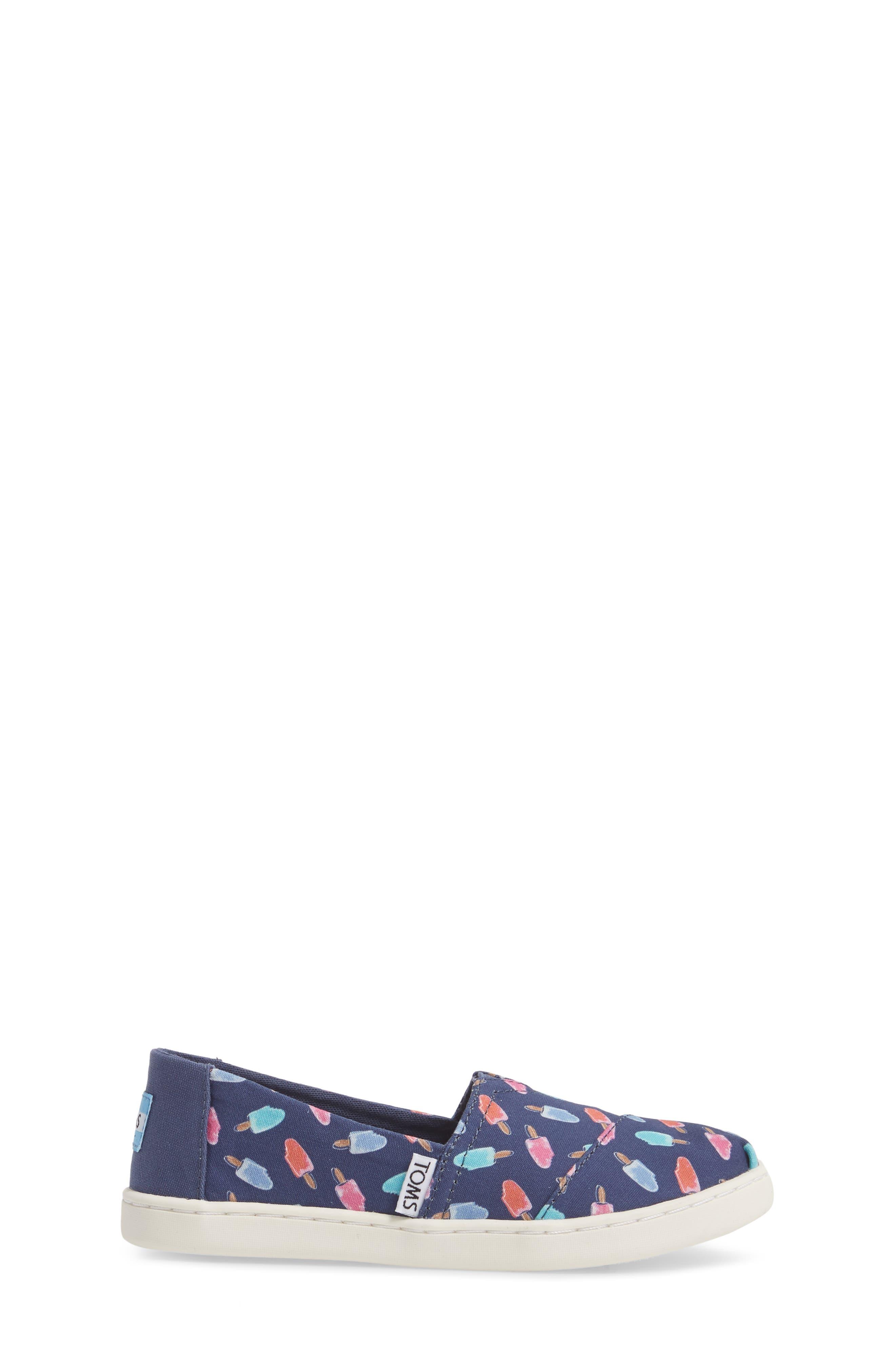 Classic Alpargata Slip-On,                             Alternate thumbnail 3, color,                             Cadet Blue Popsicles