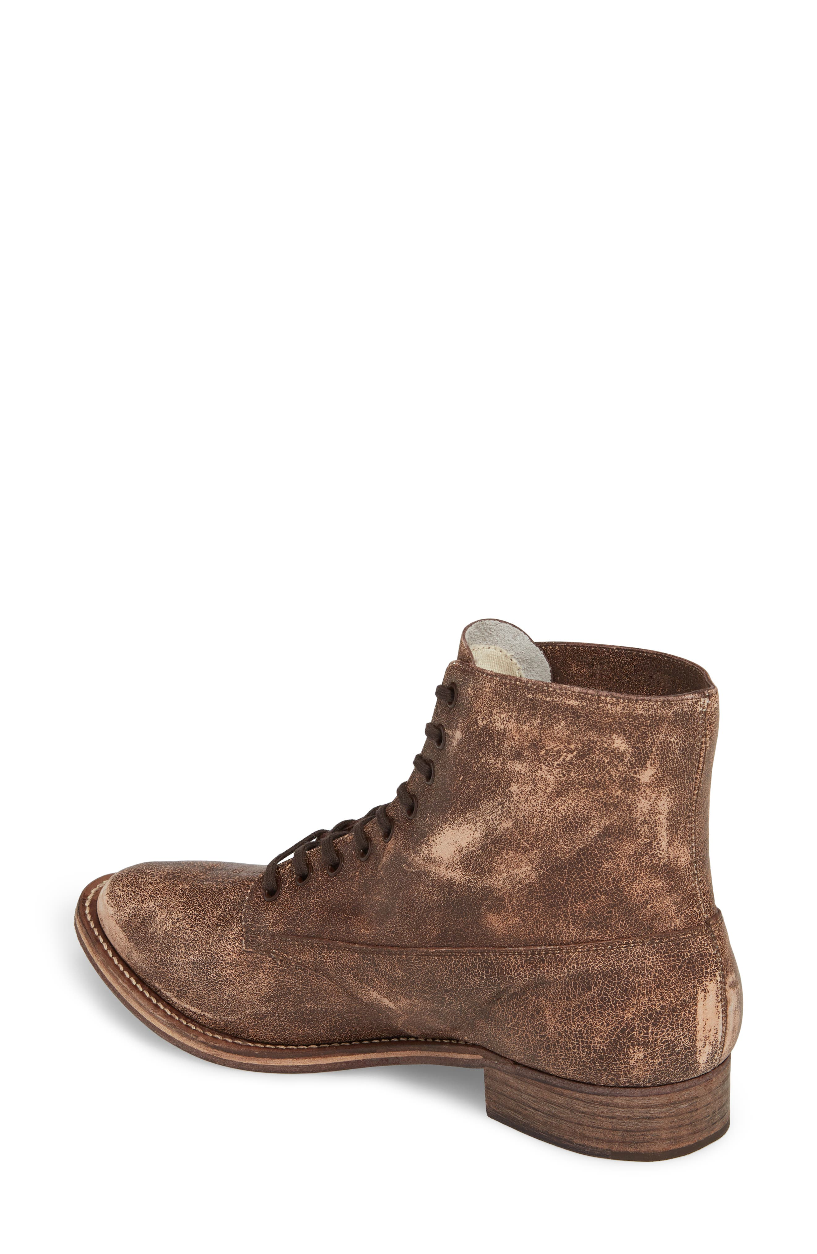 Boxcar Lace-Up Boot,                             Alternate thumbnail 2, color,                             Cordovan
